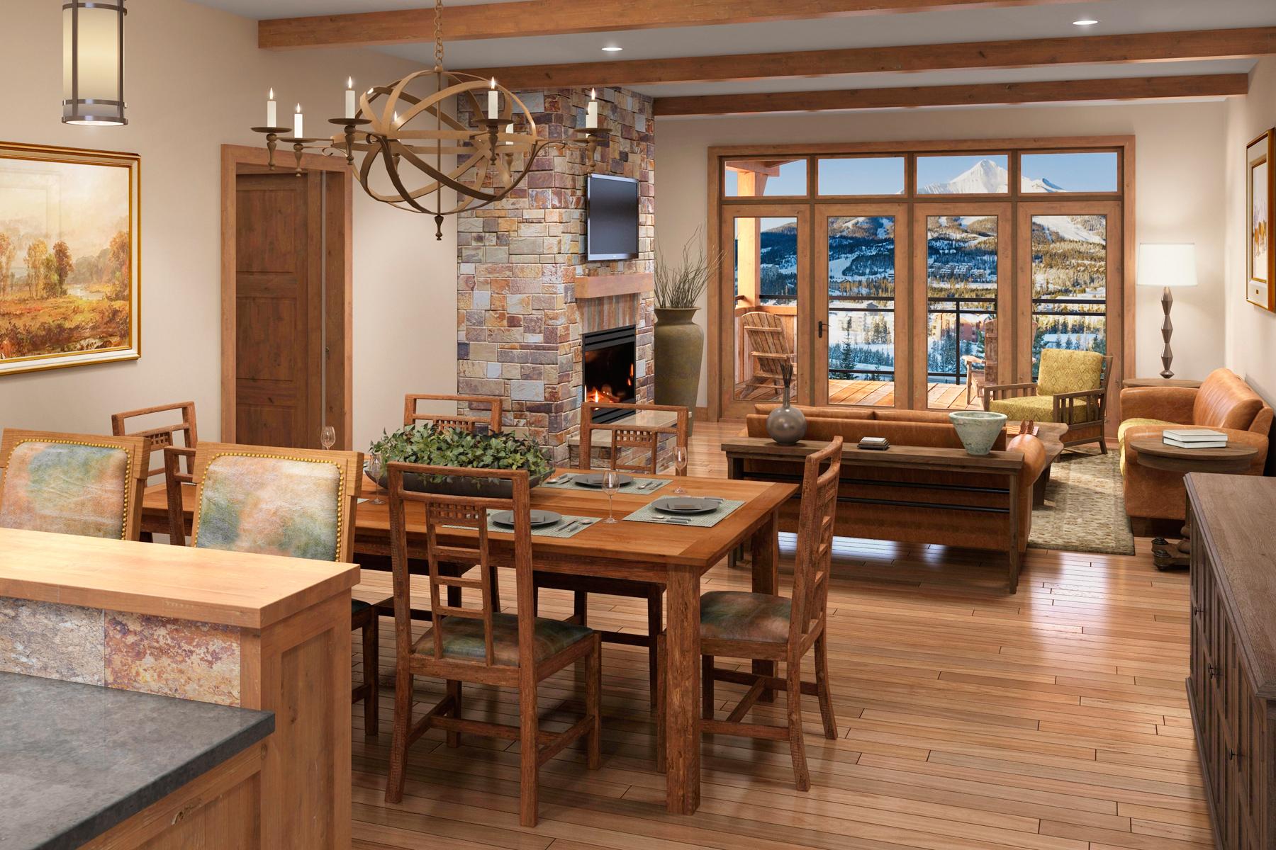 Property Of New Construction Mountain Lake Condo