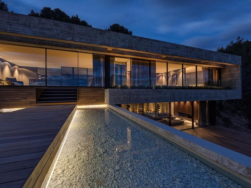 Property Of Villa overlooking the bay of Palma in Son Vida