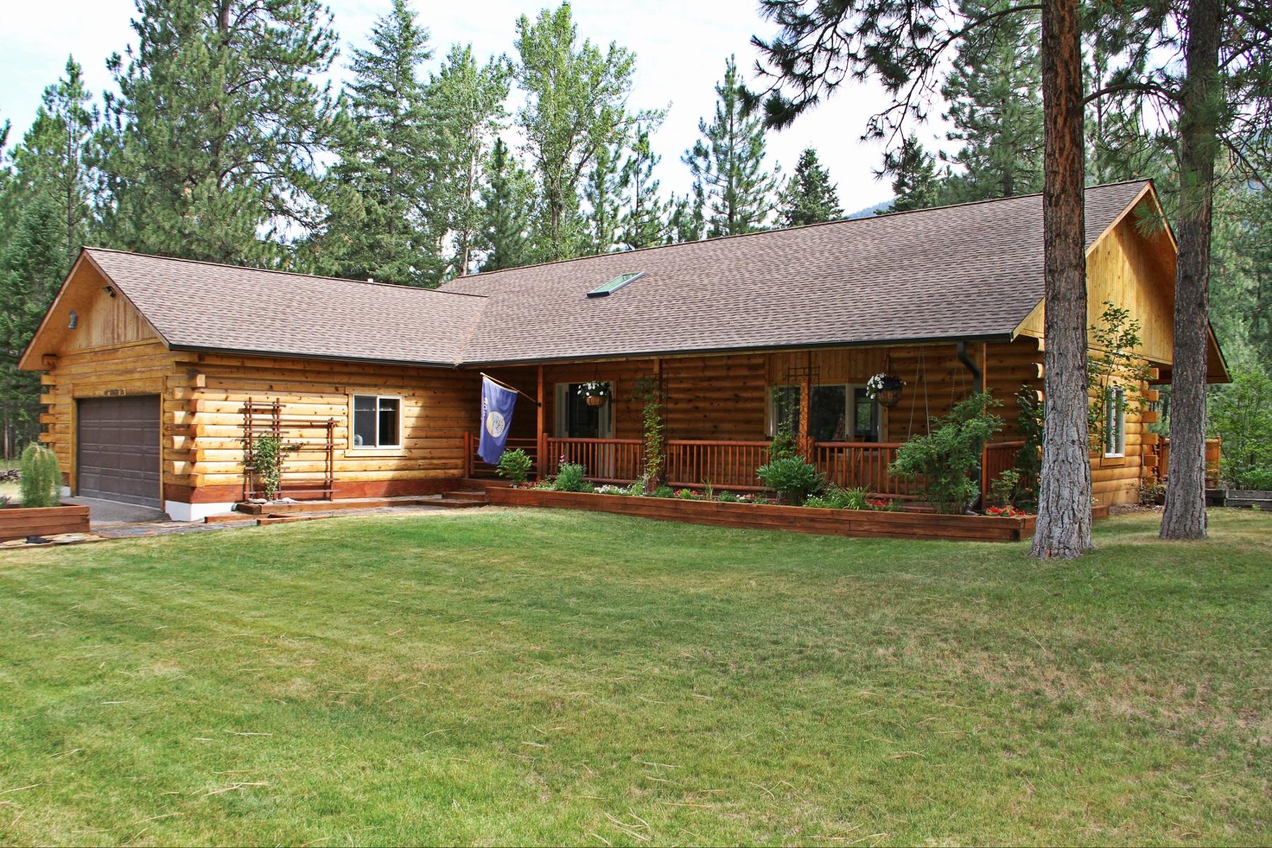 Vivienda unifamiliar por un Venta en 14050 Turah Road Clinton, Montana 59825 Estados Unidos