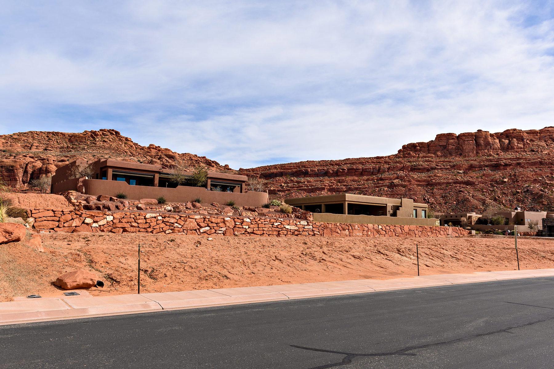 토지 용 매매 에 Premium Home Site at Cliffs of Snow Canyon 3052 N Snow Canyon Pkwy Lot #142 St. George, 유타 84770 미국