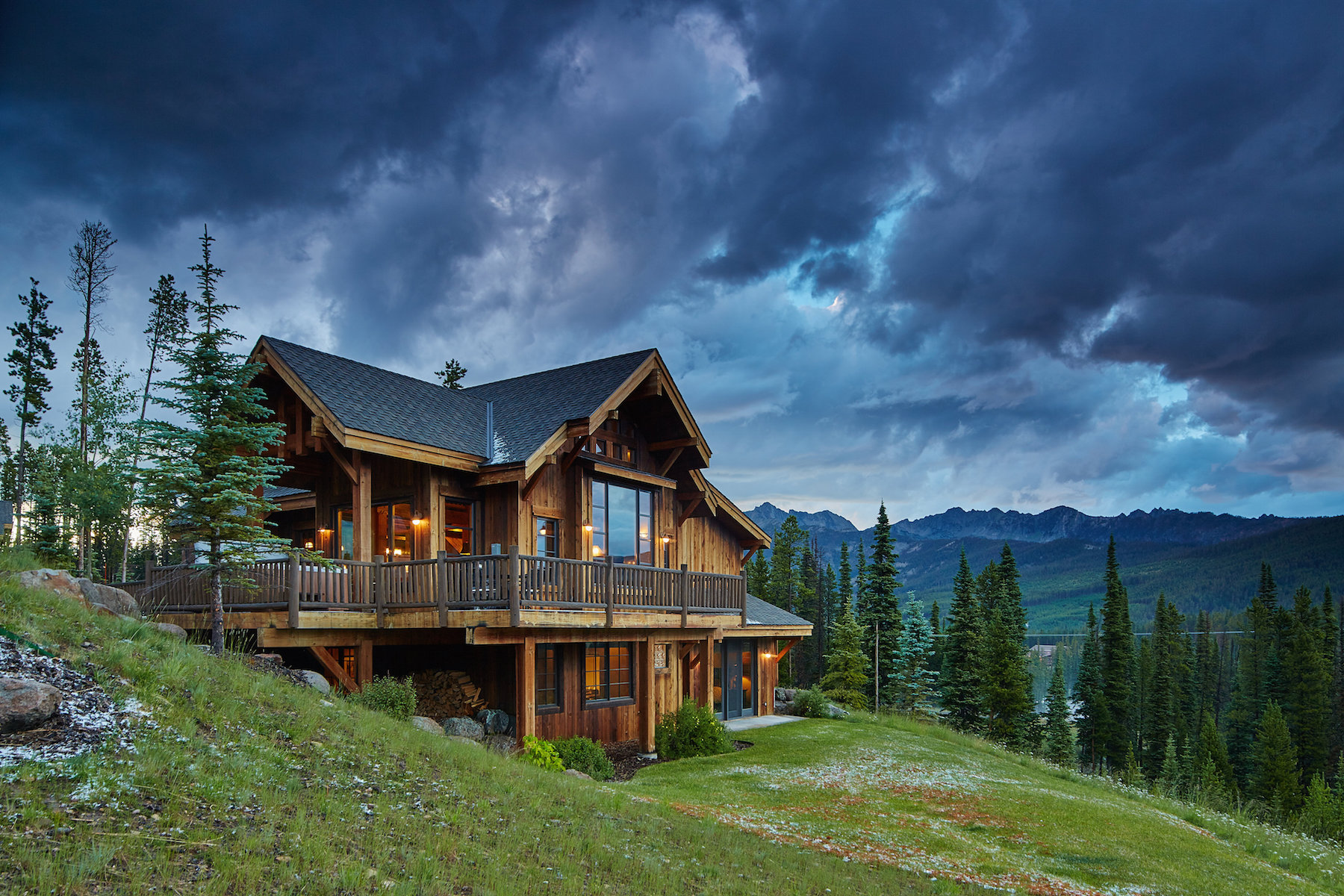 Single Family Home for Sale at Alpine Meadows Chalet 78 5 Silver Star Drive Alpine Meadows Chalet 78 Big Sky, Montana 59716 United States