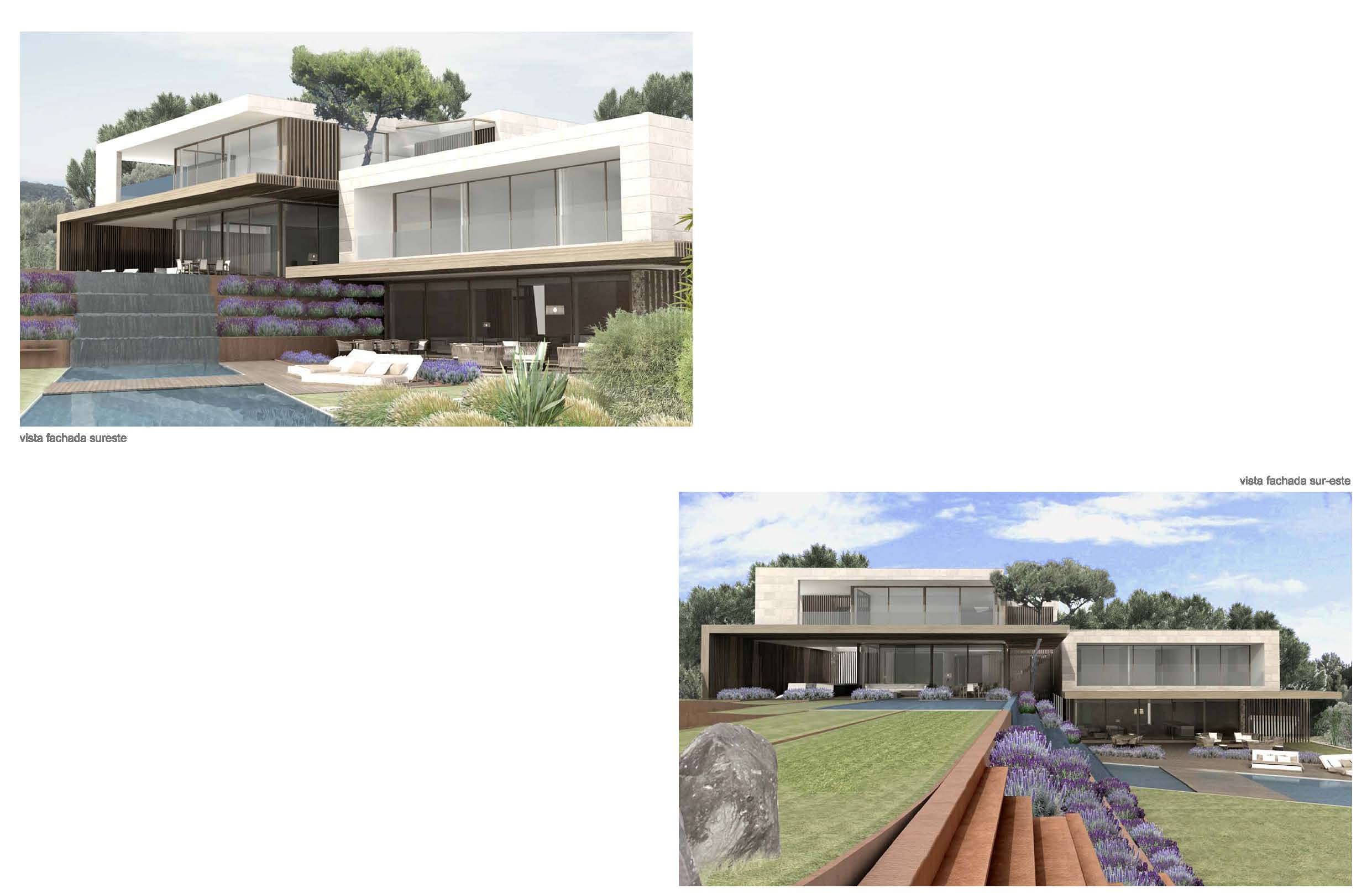 Property Of Plot with project and fantastic views in Son Vida
