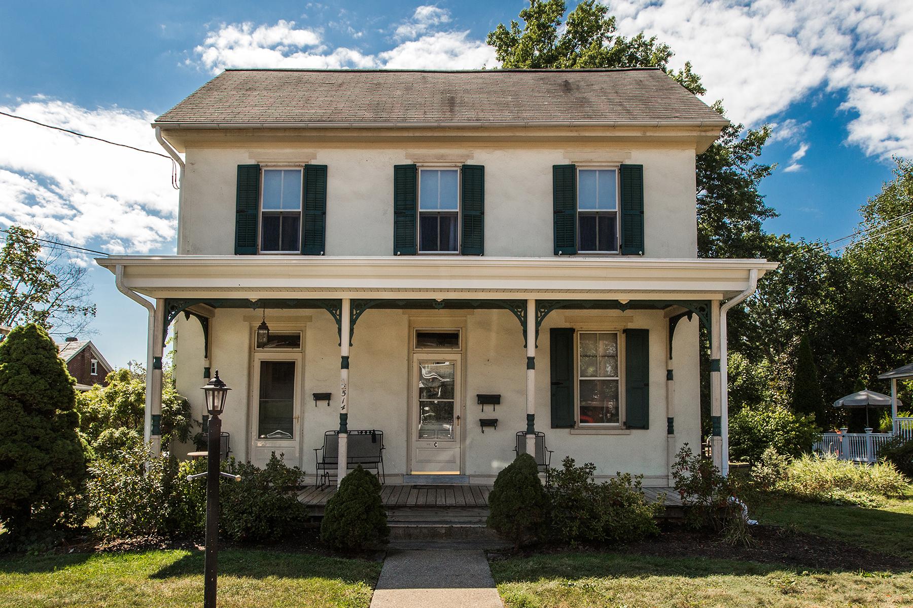 Multi-Family Home for Sale at Perkasie, PA 514 W Market Street Perkasie, Pennsylvania, 18944 United States