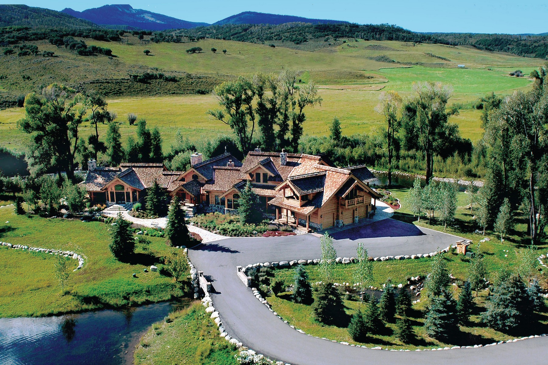 Single Family Home for Sale at The River House 52715 RCR 129 Steamboat Springs, Colorado 80487 United States
