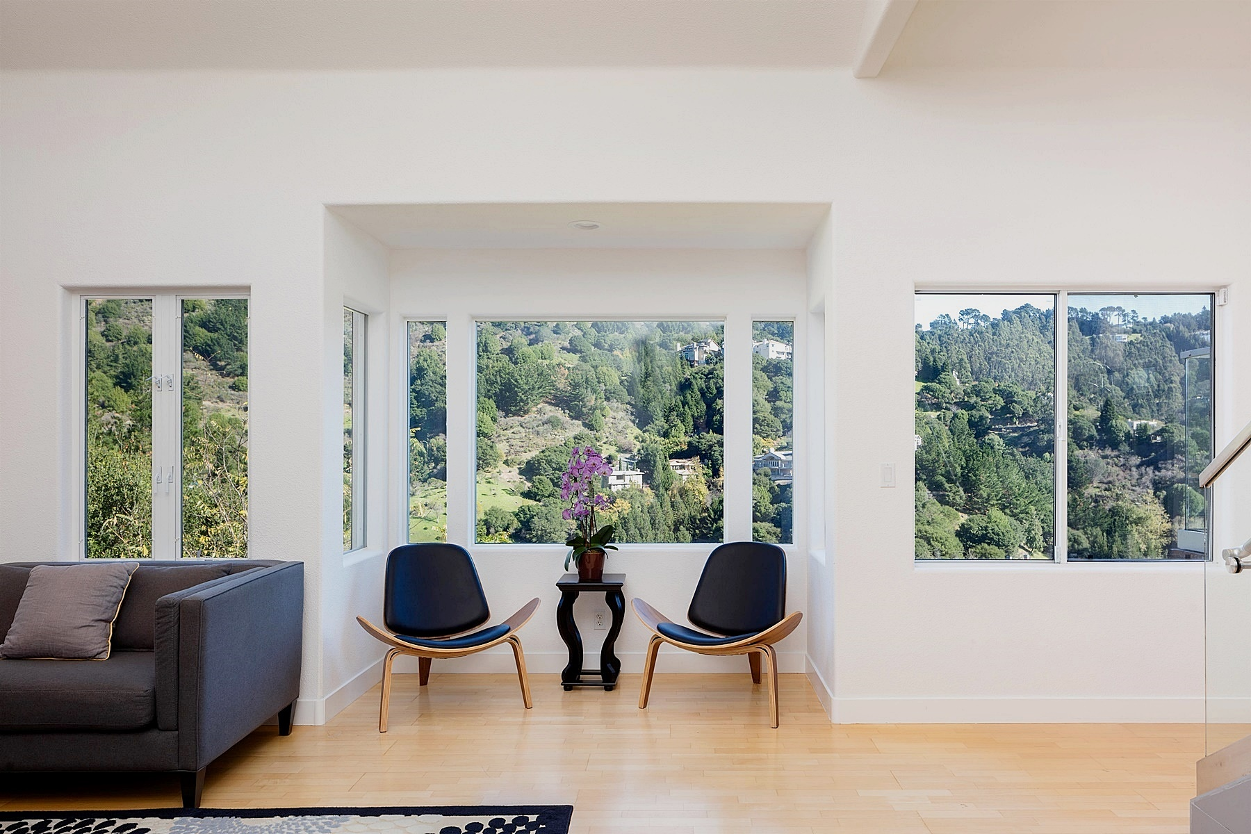 Maison unifamiliale pour l Vente à Contemporary Home In The Hills 6928 Bristol Drive Berkeley, Californie 94705 États-Unis