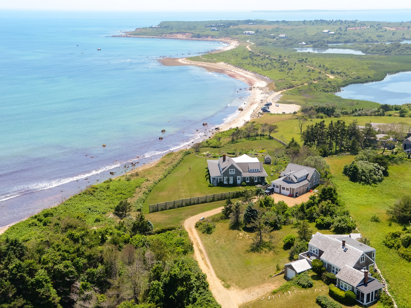 "Property Of The ""Cliff Cottage"" in Chilmark"