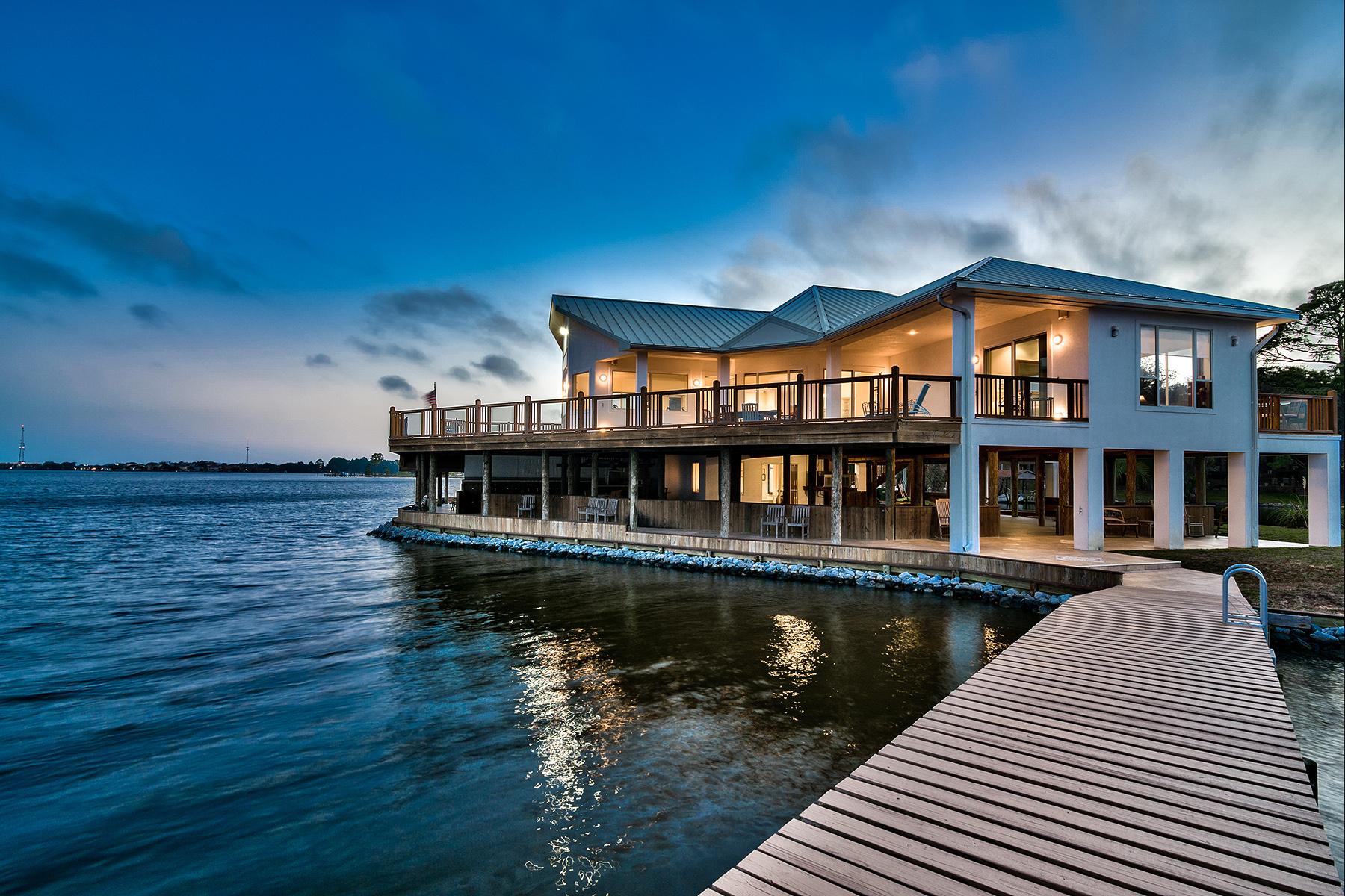 Tek Ailelik Ev için Satış at COLONEL'S NATURAL AQUARIUM 3 Garniers Post Road Fort Walton Beach, Florida, 32547 Amerika Birleşik Devletleri