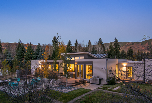 Single Family Home for Sale at Inspiring Custom Modern Home 611 & 661 Twining Flats Road Aspen, Colorado 81611 United States