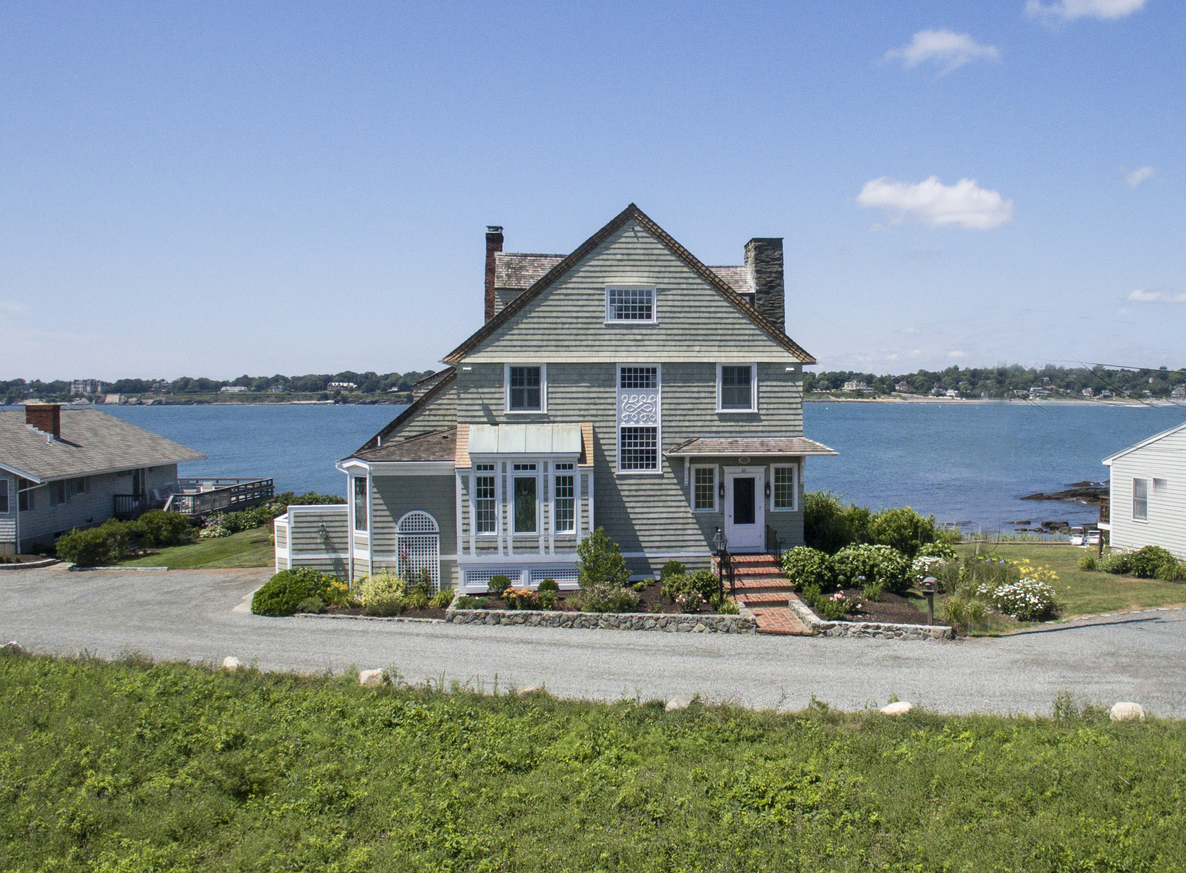 Single Family Home for Sale at 'Cliff Cottage' 63 Shore Drive Middletown, Rhode Island 02842 United States