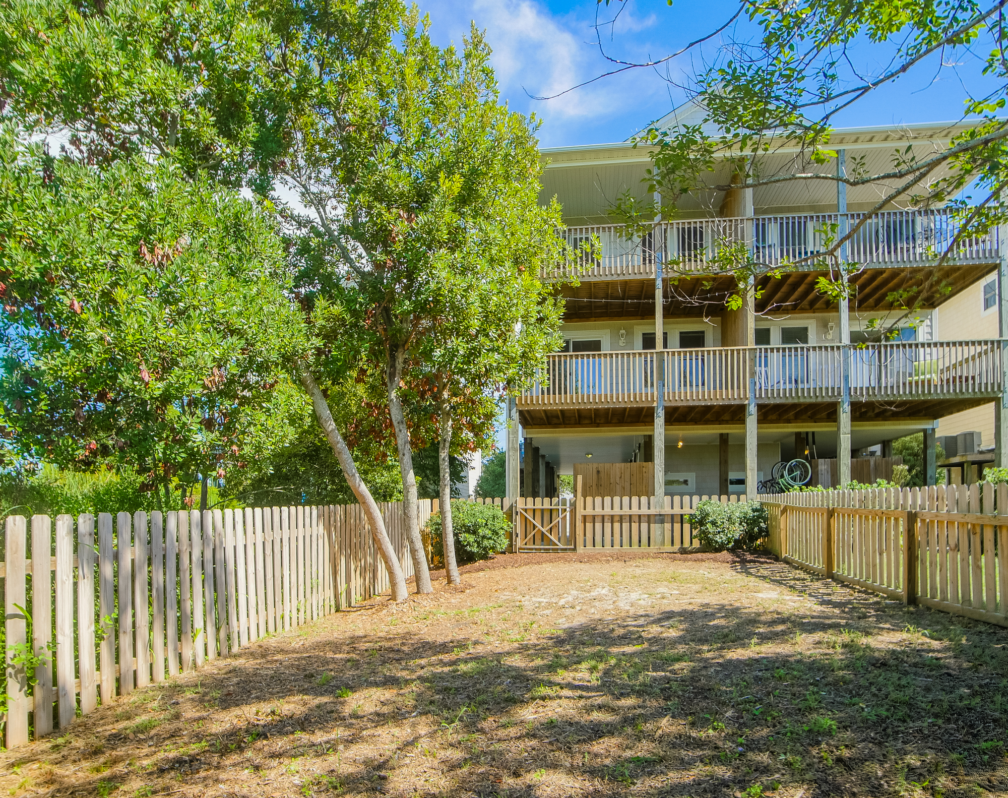 Townhouse for Sale at Beach Townhouse with Sweeping Views of Nature 421-B N New River Dr Surf City, North Carolina, 28445 United States