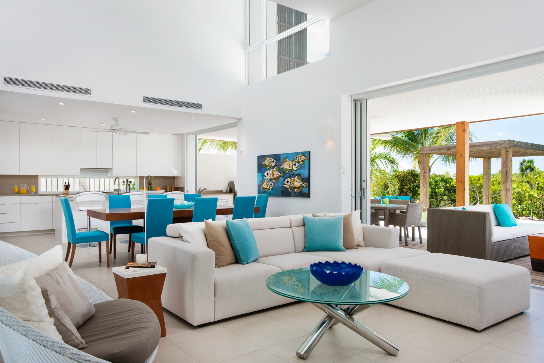Tek Ailelik Ev için Satış at Sunset Beach Villas - Design B Gardenview Leeward, Providenciales, TC Turks Ve Caicos Adalari