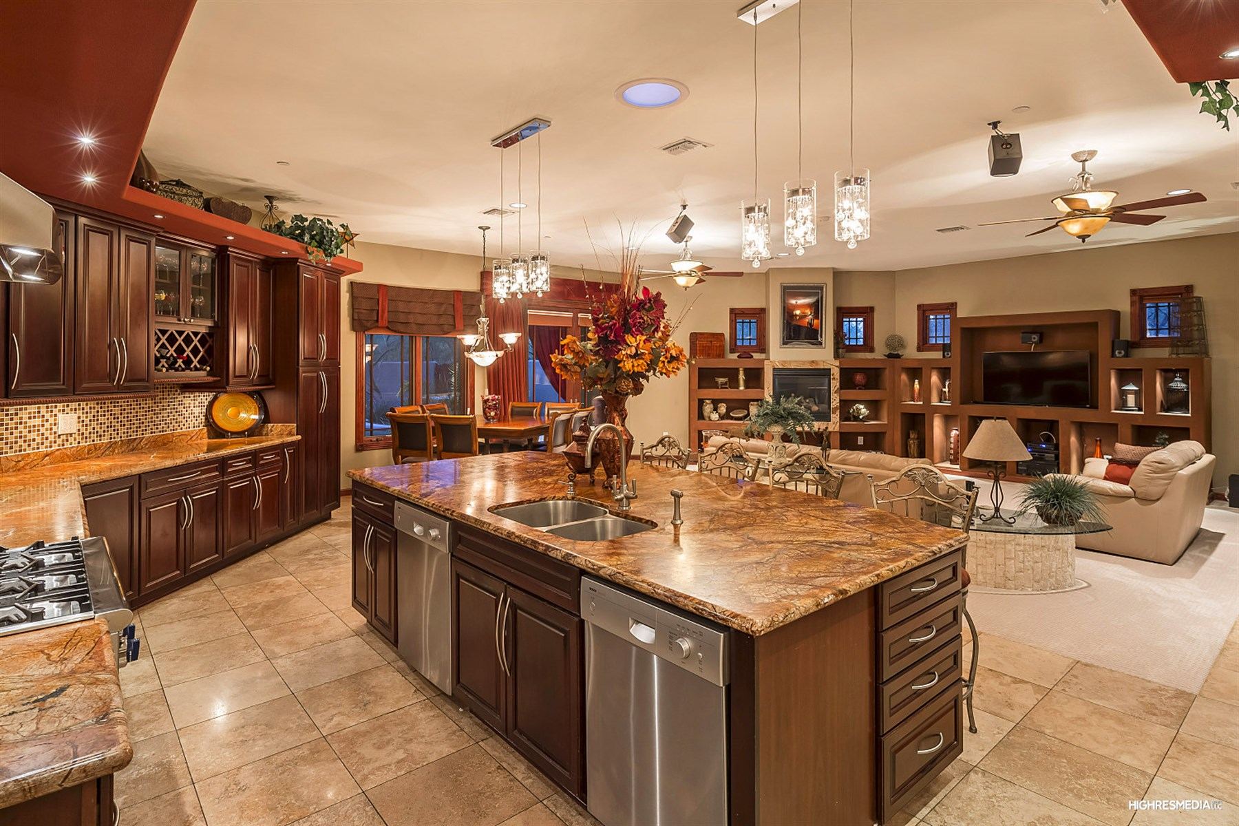 一戸建て のために 売買 アット Immpeccably maintained scottsdale advanced green build home 8653 E Arroyo Hondo Rd Scottsdale, アリゾナ, 85266 アメリカ合衆国