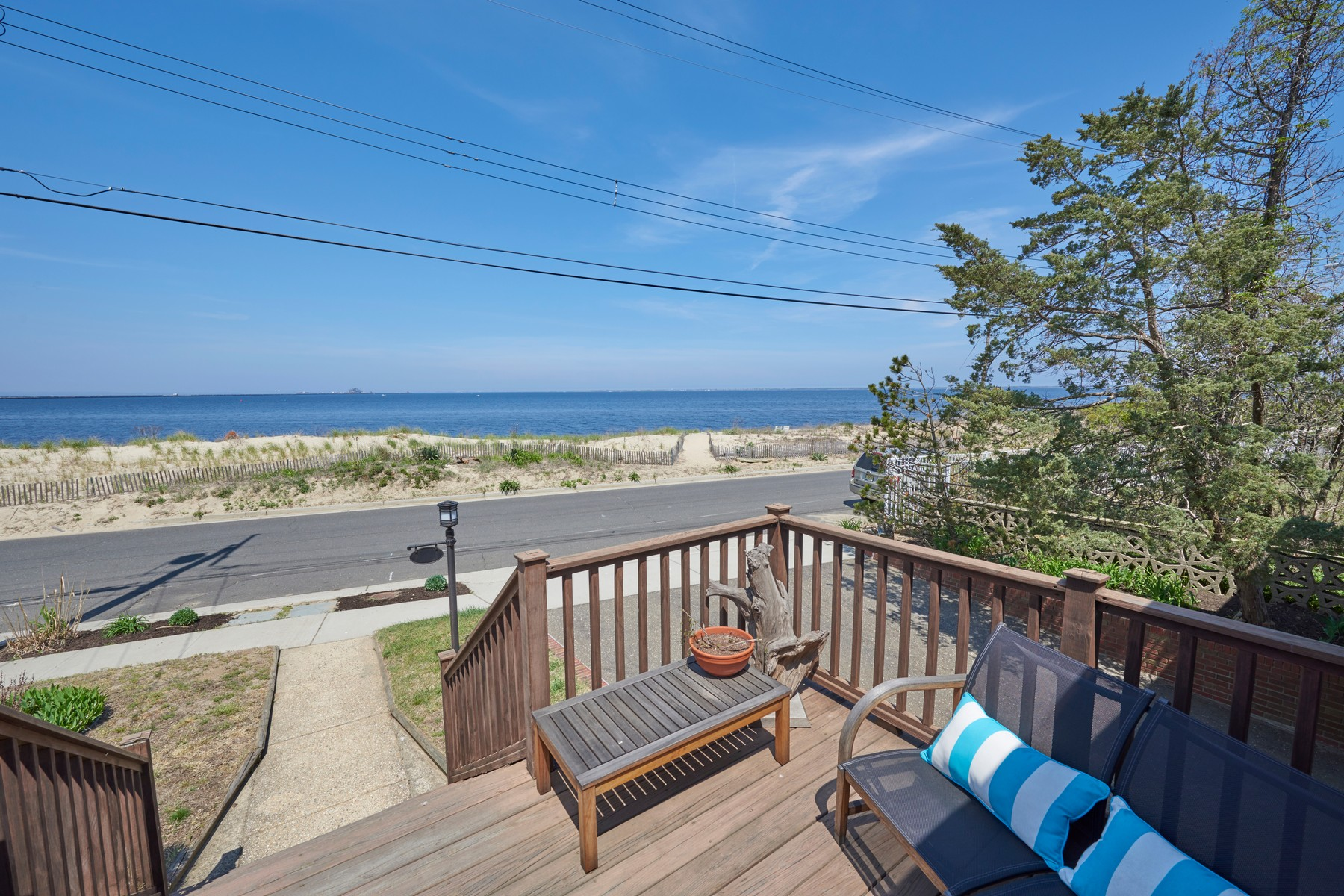 Single Family Home for Sale at Waking Up To The Sunrise 218 Beach Ave. Leonardo, New Jersey 07737 United States