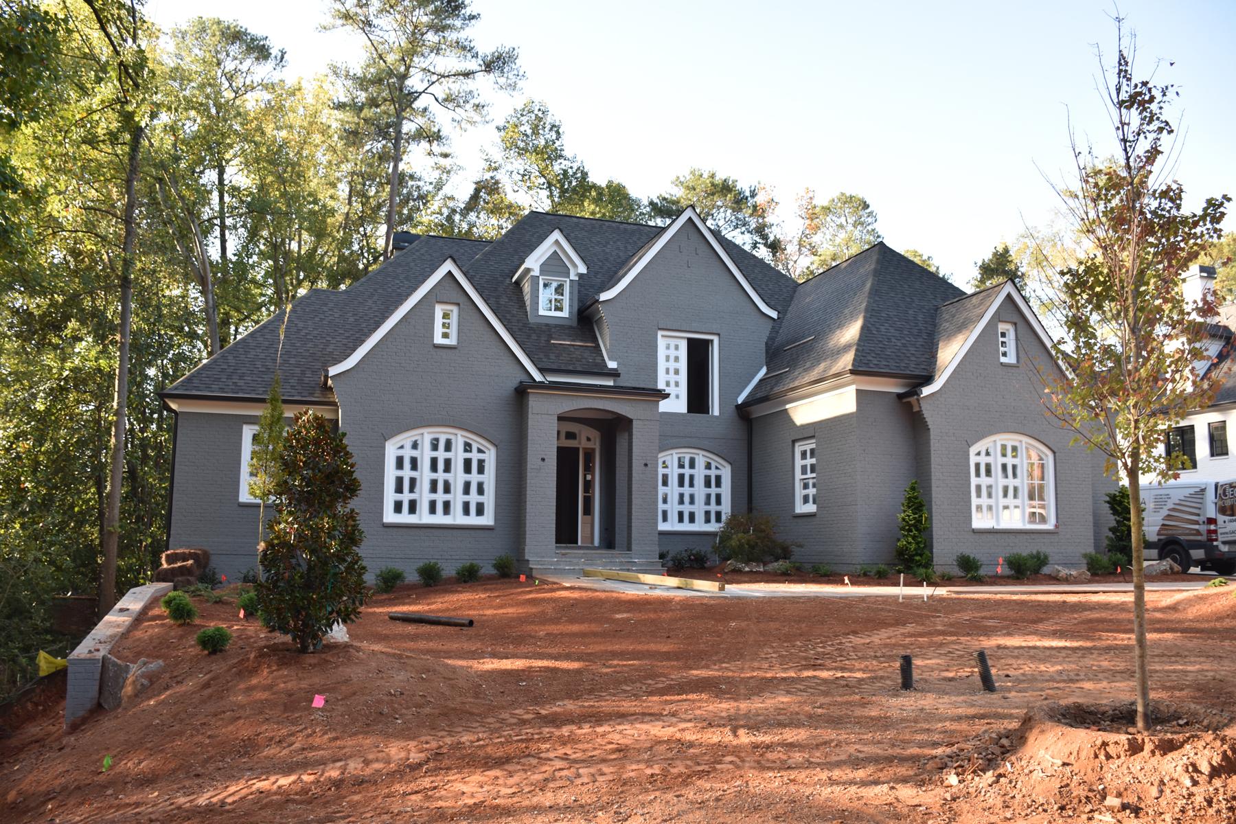 Casa Unifamiliar por un Venta en Buckhead New Construction Home 1240 Peachtree Battle Avenue NW Buckhead, Atlanta, Georgia, 30327 Estados Unidos