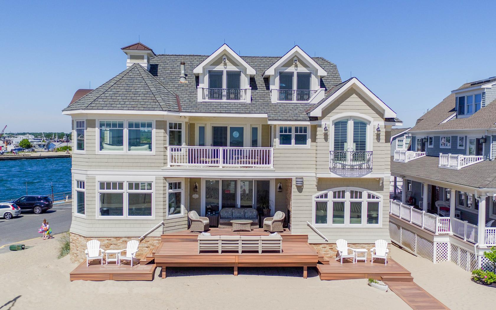 Single Family Home for Sale at Perfection Knows No Boundaries! 431 Beach Front Manasquan, New Jersey 08736 United States