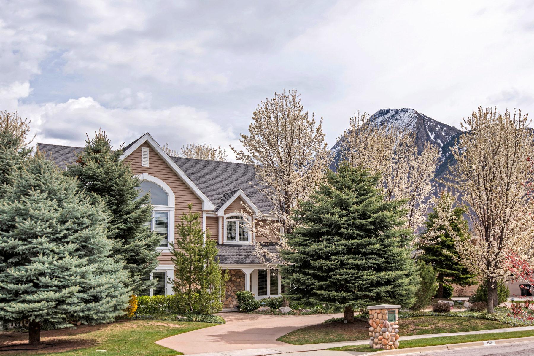 Частный односемейный дом для того Продажа на Immaculate Holladay Two-Story 4515 S Butternut Rd Salt Lake City, Юта, 84117 Соединенные Штаты