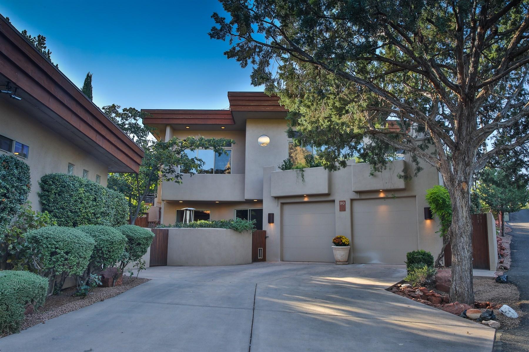 Vivienda unifamiliar por un Venta en Lovely West Sedona Estate 90 Coffee Cup Drive Sedona, Arizona 86336 Estados Unidos
