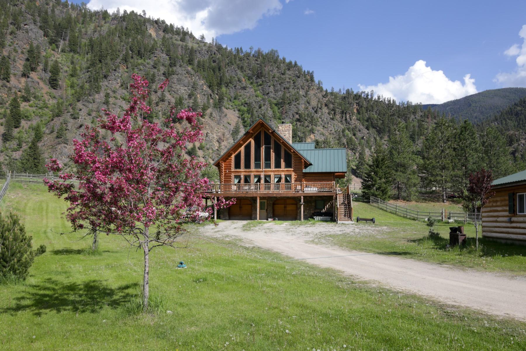 단독 가정 주택 용 매매 에 14 Snook Trail Clinton, 몬타나, 59825 미국