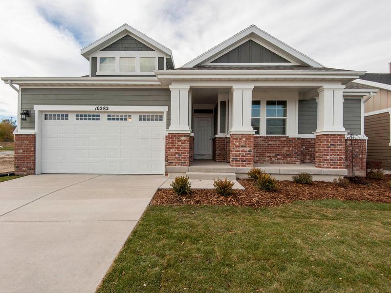 Maison unifamiliale pour l Vente à Craftsman Two Story To Be Built 1207 Samuel Holt Dr Lot #52 South Jordan, Utah 84095 États-Unis