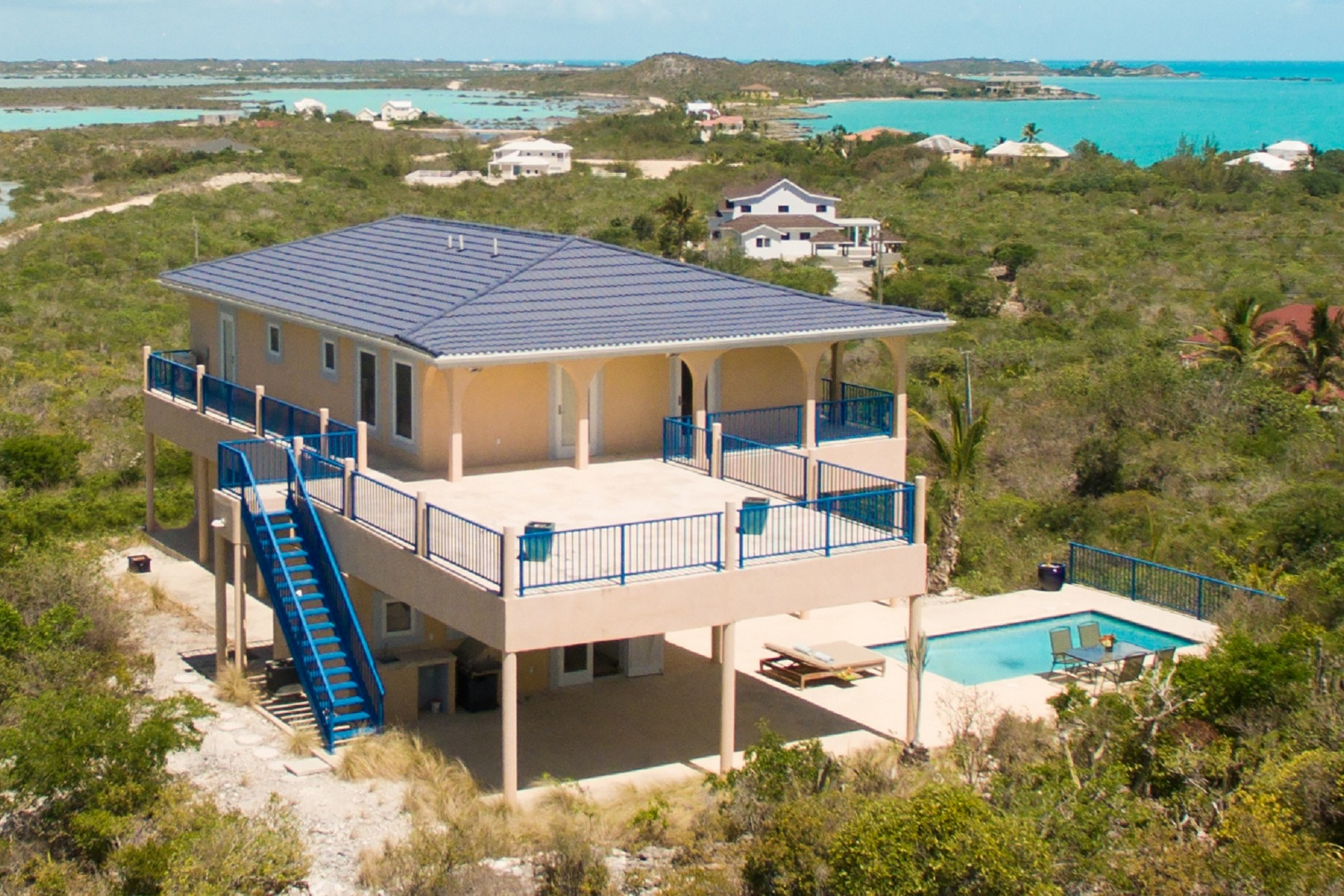 Single Family Home for Sale at 16 Grouper Court Oceanview Turtle Tail, Providenciales, TCI Turks And Caicos Islands