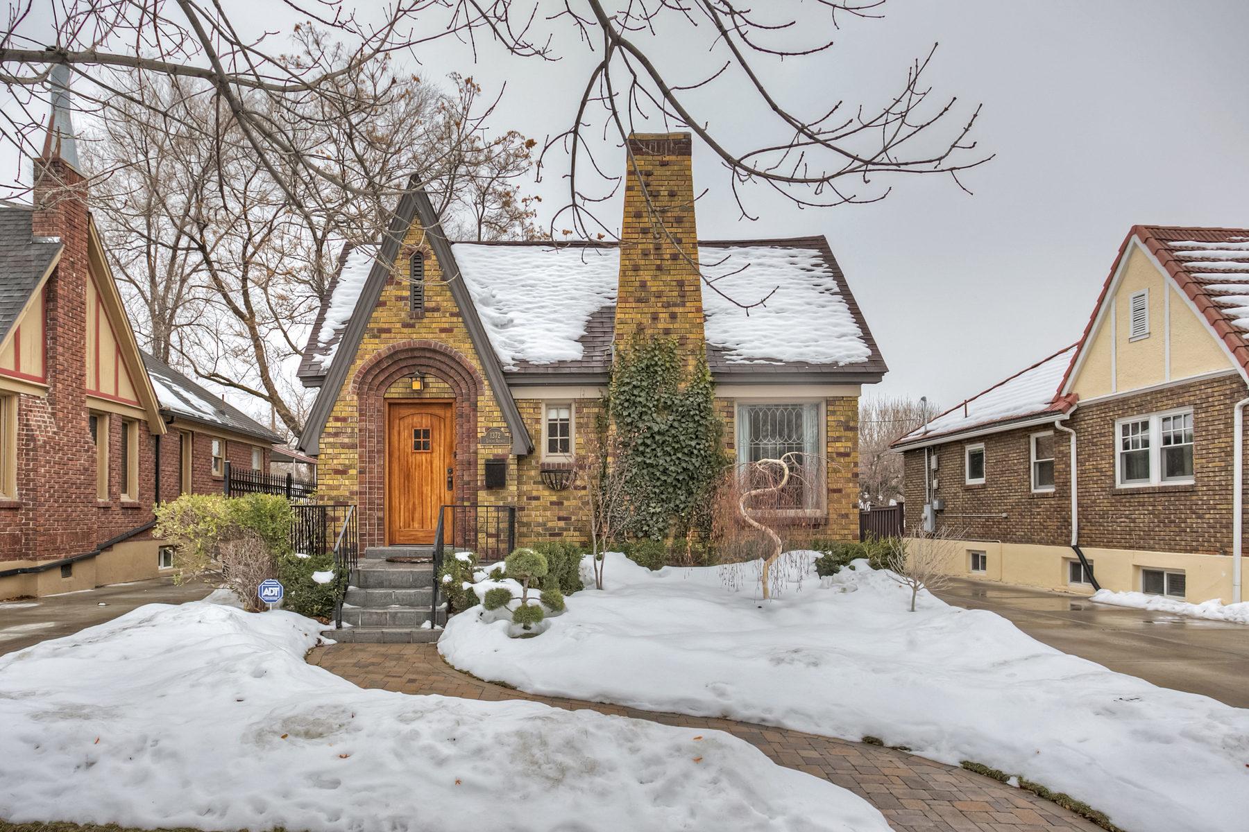 Maison unifamiliale pour l Vente à Picture Perfect Tudor in Storybook Neighborhood 1372 E Logan Ave Salt Lake City, Utah 84105 États-Unis