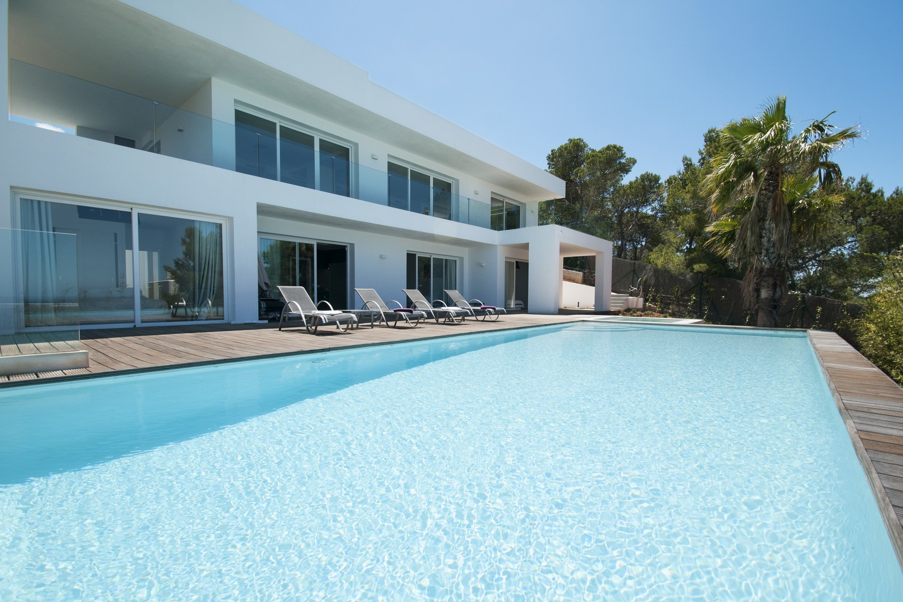 Single Family Home for Sale at Two Home Property with sea view in Cala Molí San Jose, Ibiza, 07830 Spain