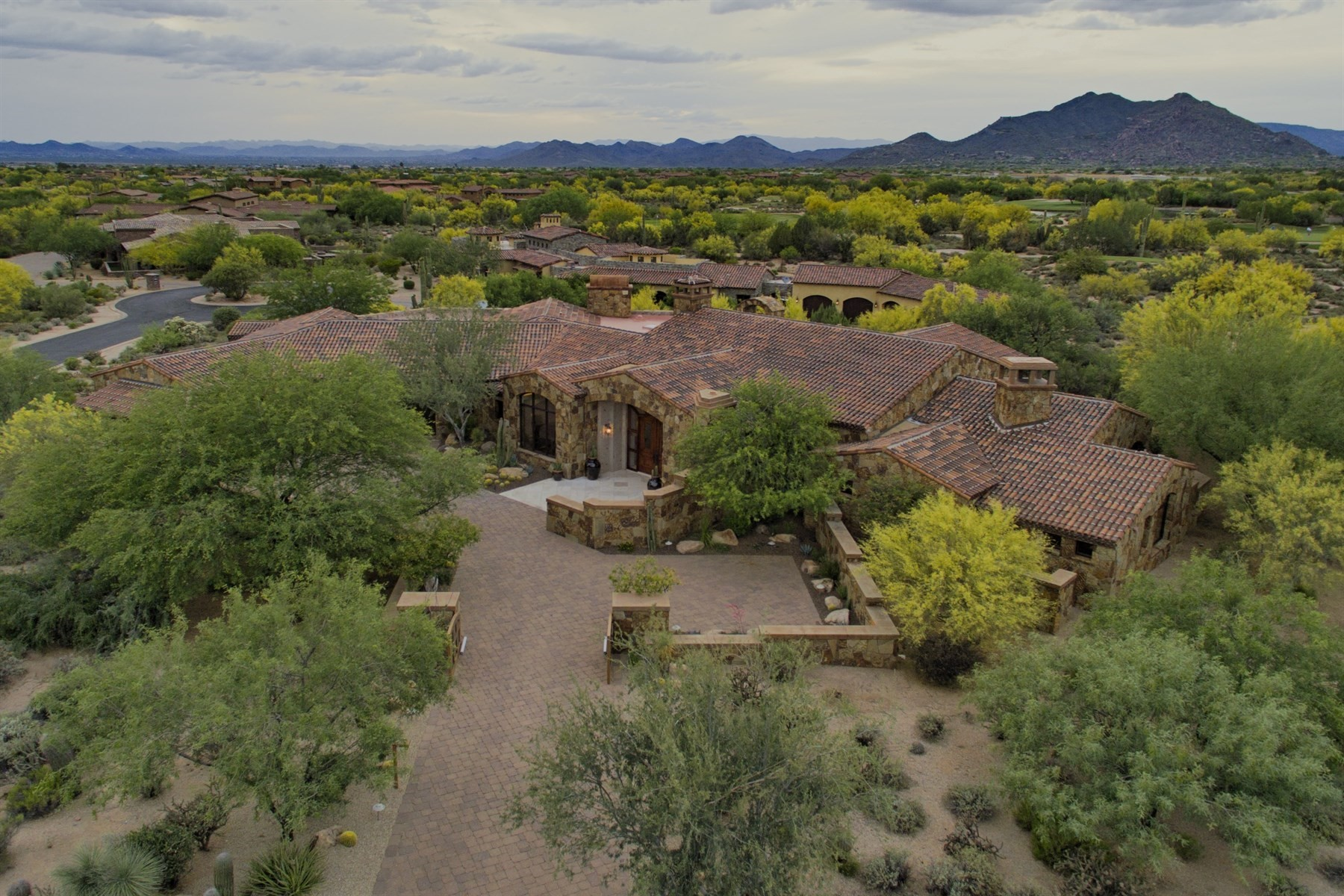 Single Family Home for Sale at Award-winning Builder and Architect combine to create an exquisite residence 7552 E Whisper Rock Trl Scottsdale, Arizona, 85266 United States