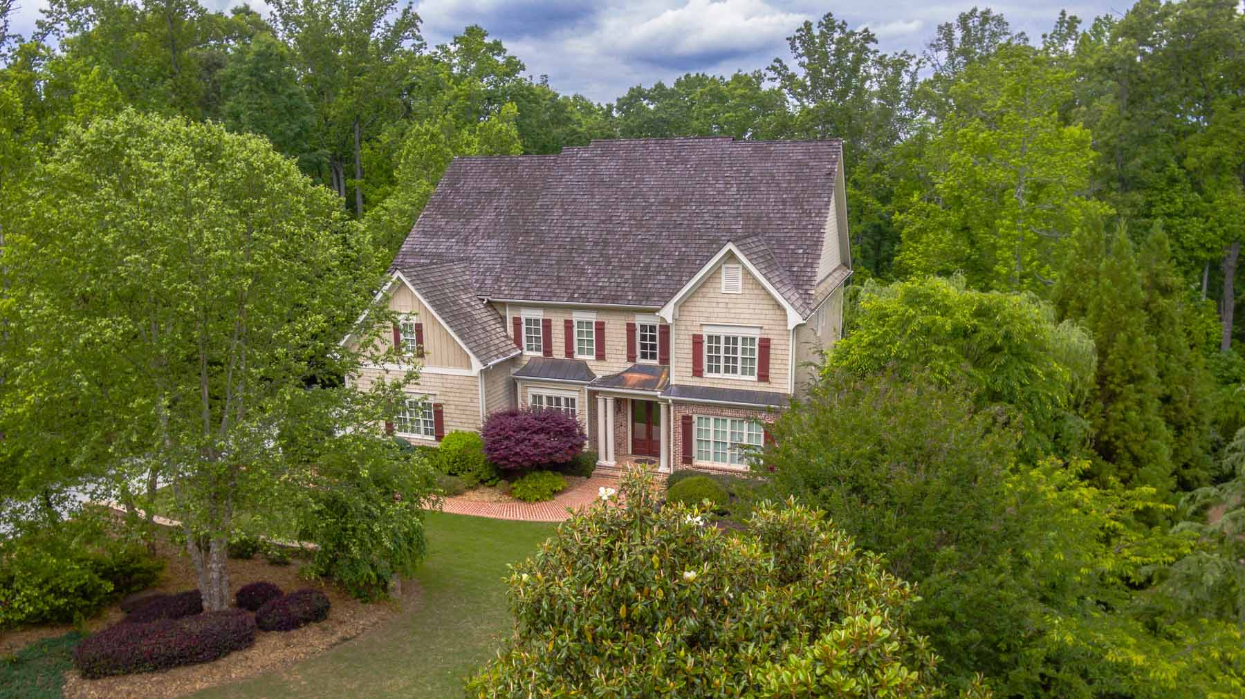 Single Family Home for Sale at Exquisite Executive Home with Custom Heated Pool and Cascading Stream in Milton 13220 Owens Way Alpharetta, Georgia, 30004 United States