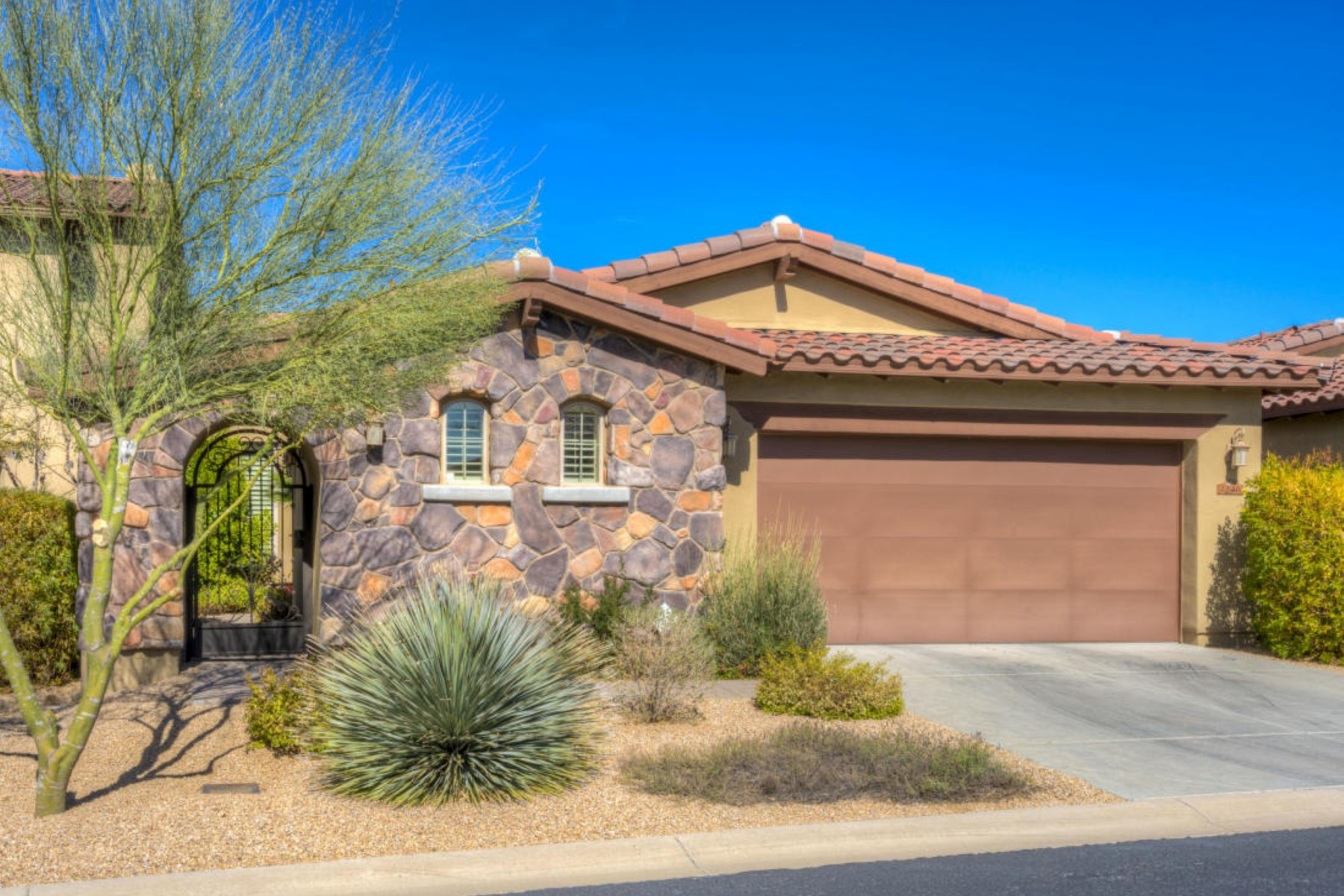 Townhouse for Sale at Highly desired floor plan in gated community of Solstice 7246 E Aurora Dr Scottsdale, Arizona, 85266 United States