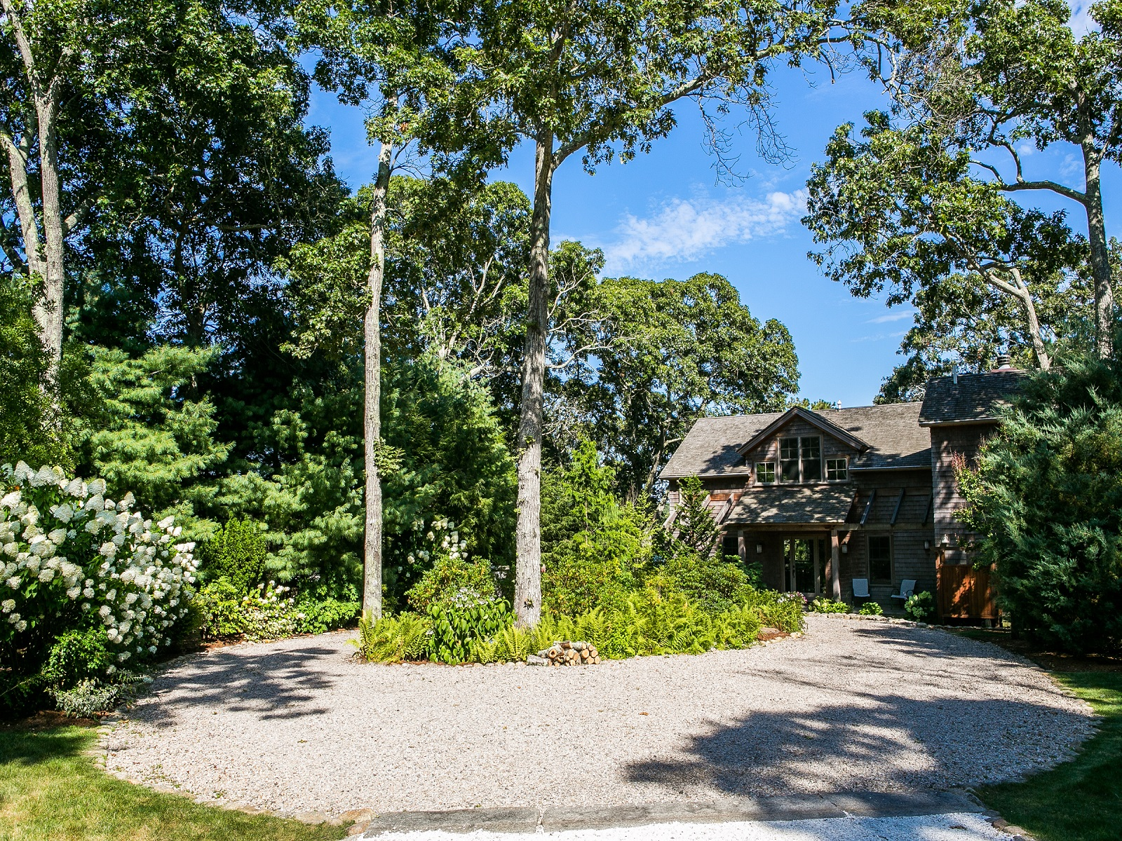 Single Family Home for Sale at Waterfront home with dock on the Lagoon 20 Sunnyside Avenue Vineyard Haven, Massachusetts 02568 United States