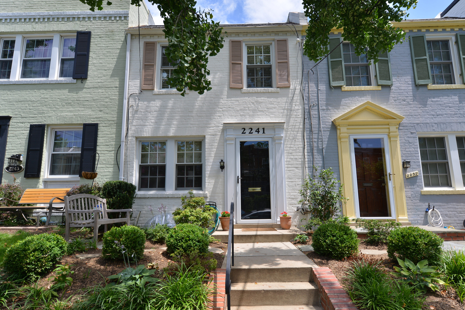 Townhouse for Sale at Glover Park 2241 Observatory Place Nw Washington, District Of Columbia 20007 United States