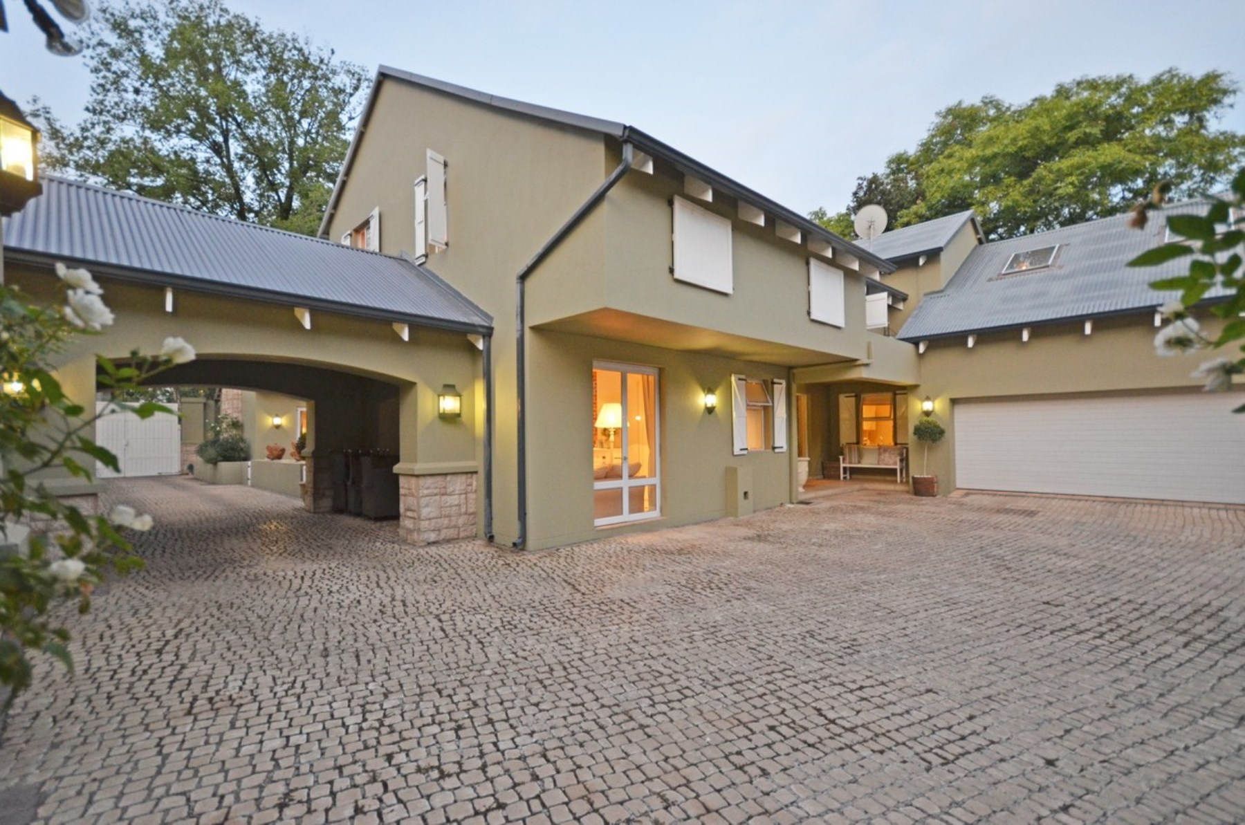 Single Family Home for Sale at A delightful home inspired by Provence. Atholl, Johannesburg, Gauteng South Africa
