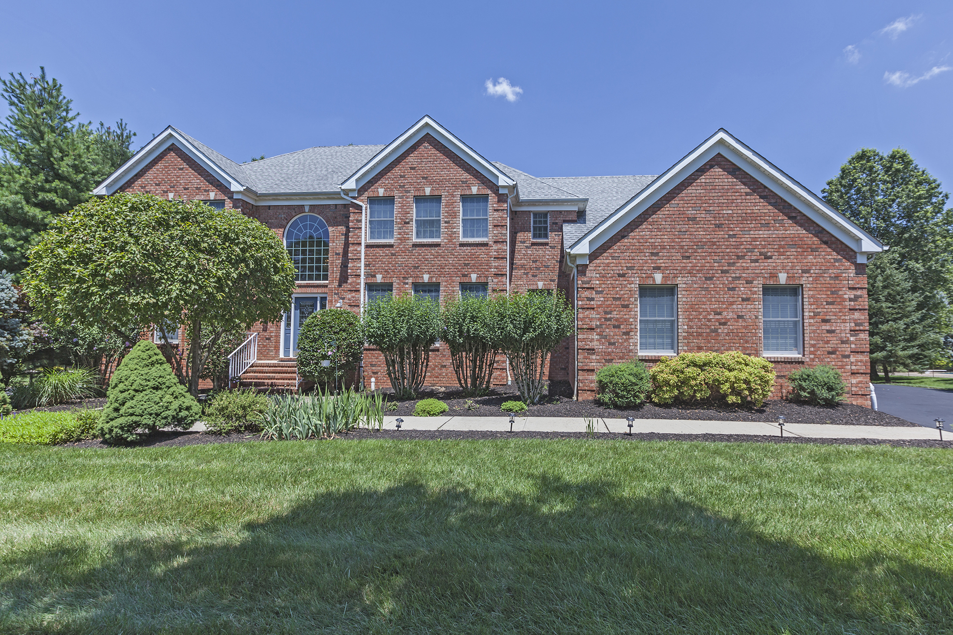 Property For Sale at Big, Beautiful Corner Lot for Belle Mead Colonial - Montgomery Township