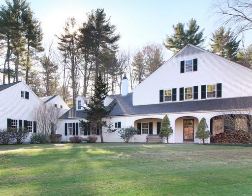 独户住宅 为 销售 在 Private Setting with New England Charm 116 Trapelo Road 林肯, 马萨诸塞州 01773 美国