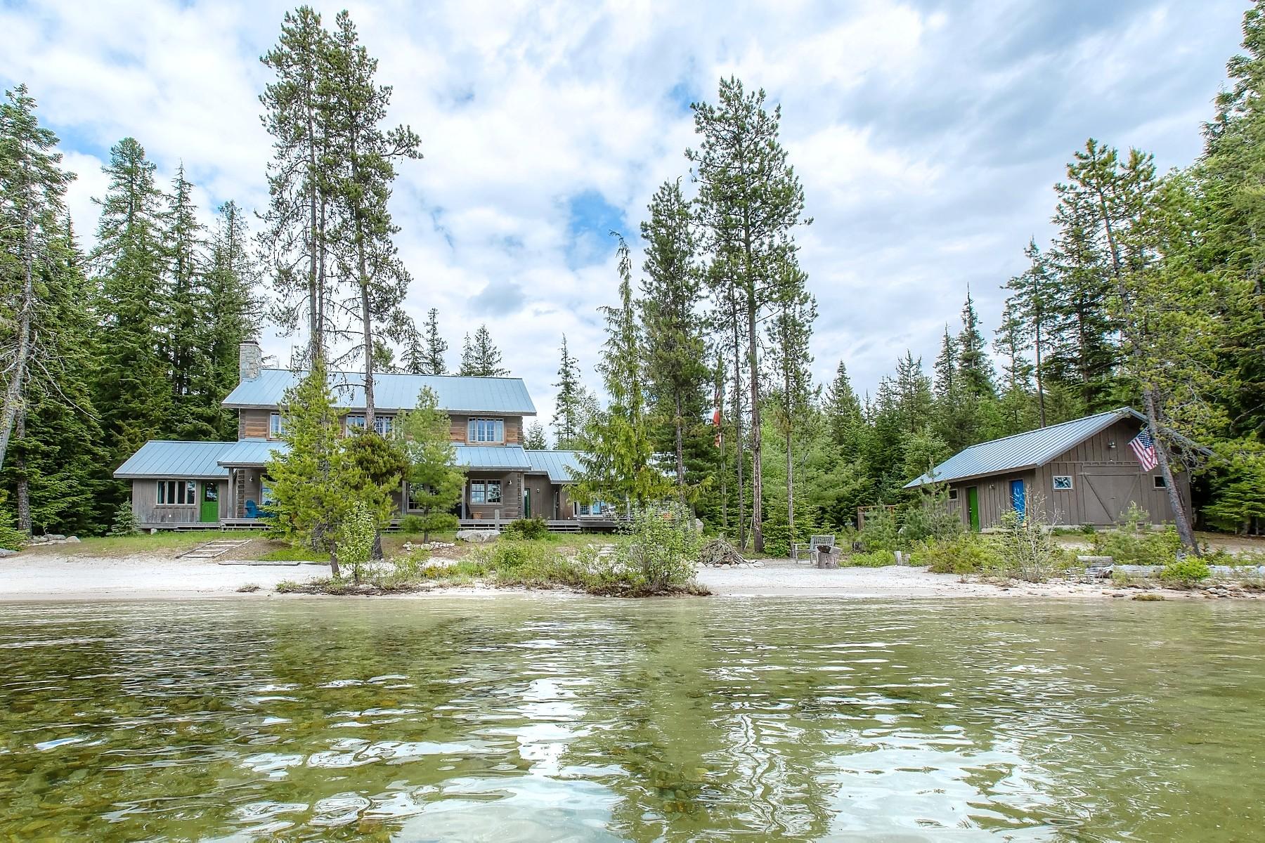 独户住宅 为 销售 在 442 N Creek 442 North Creek Road Coolin, 爱达荷州, 83821 美国