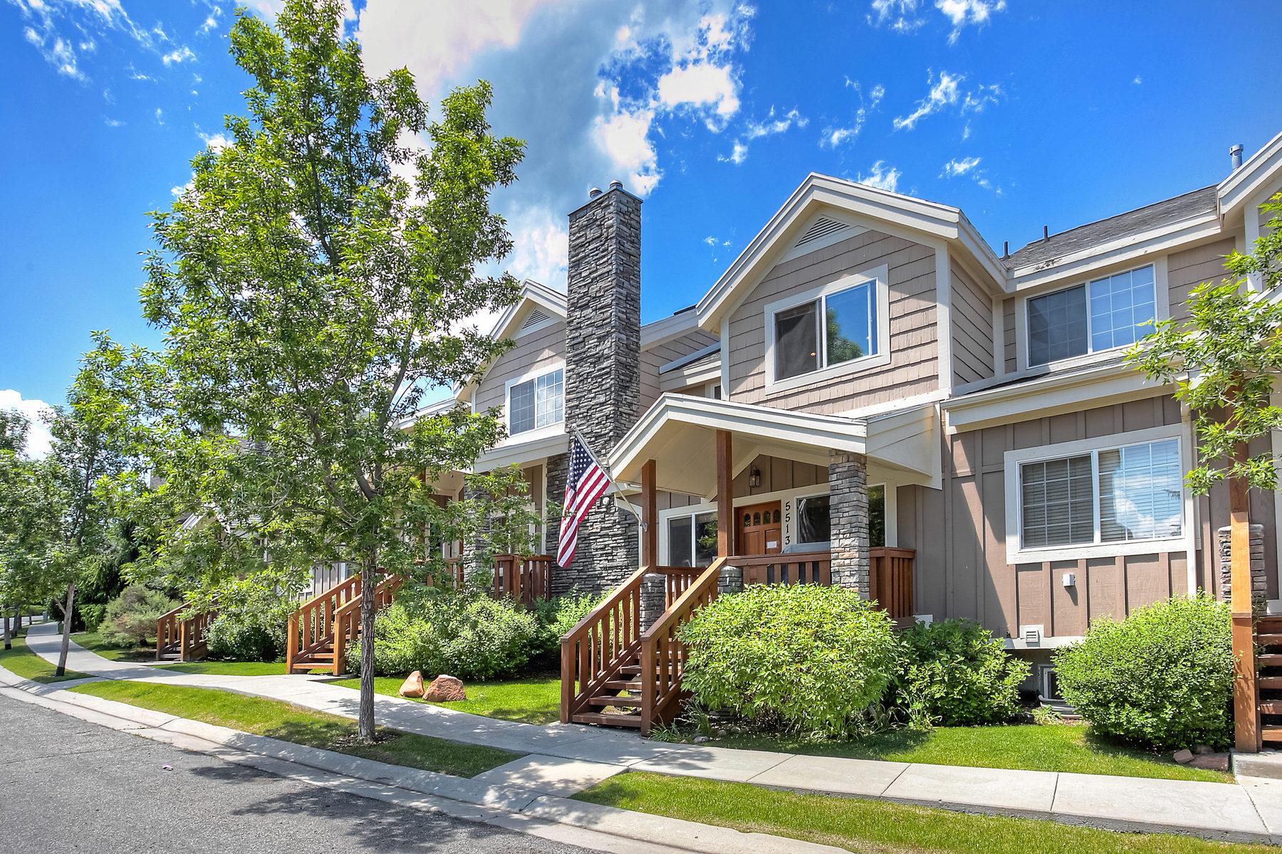 Таунхаус для того Продажа на Rare Affordable Bear Hollow Townhouse 5513 Bobsled Blvd Park City, Юта 84098 Соединенные Штаты