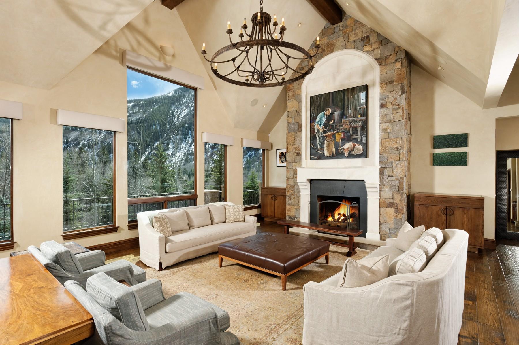 Частный односемейный дом для того Продажа на East Aspen Perfection 82 Eastwood Drive East Aspen, Aspen, Колорадо 81611 Соединенные Штаты