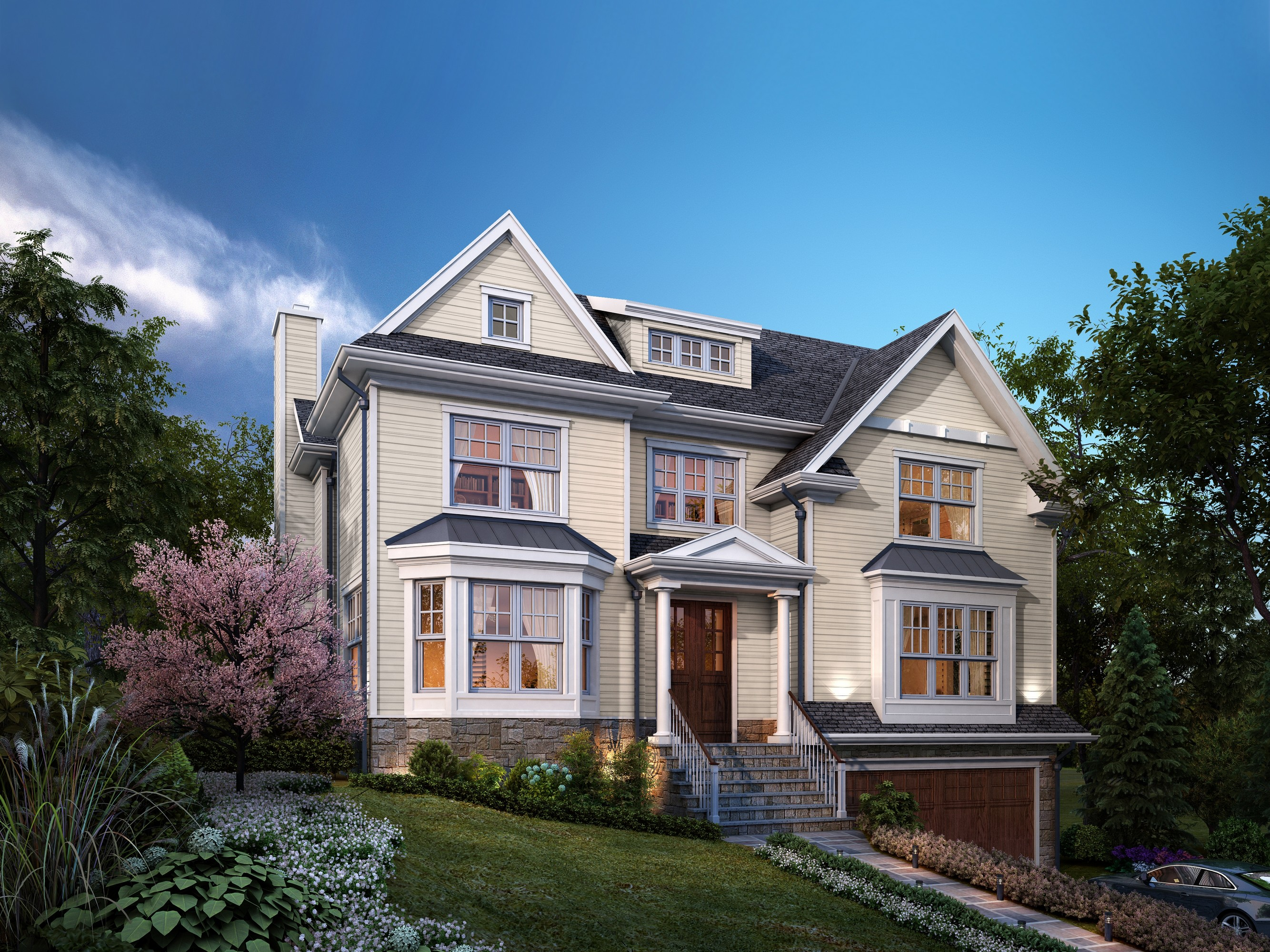 Single Family Home for Sale at New Construction! 32 Rutgers Street Closter, New Jersey 07624 United States