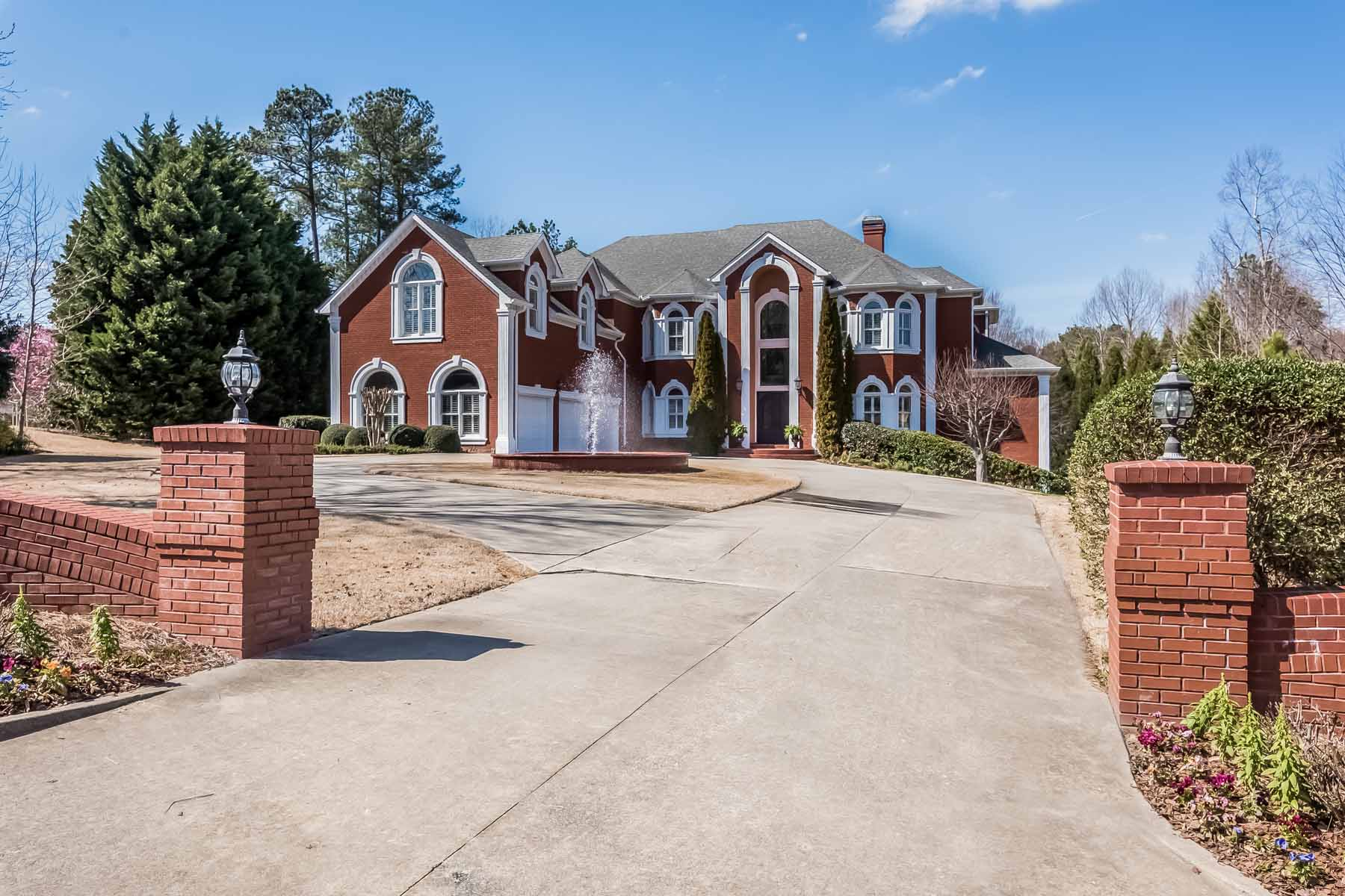 Single Family Home for Sale at A Sophisticated Milton Masterpiece 1220 Hopewell Crest Milton, Georgia, 30004 United States