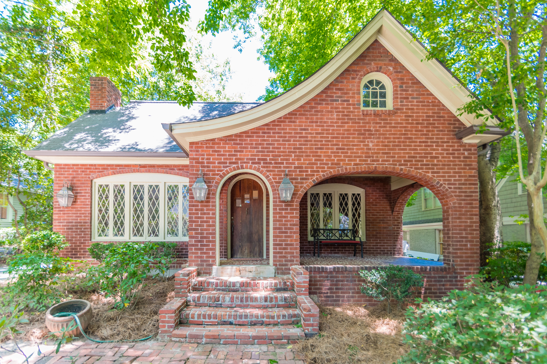 Single Family Home for Sale at Storybook Home In Desirable Peachtree Hills 90 Mobile Avenue NE Peachtree Hills, Atlanta, Georgia, 30305 United States