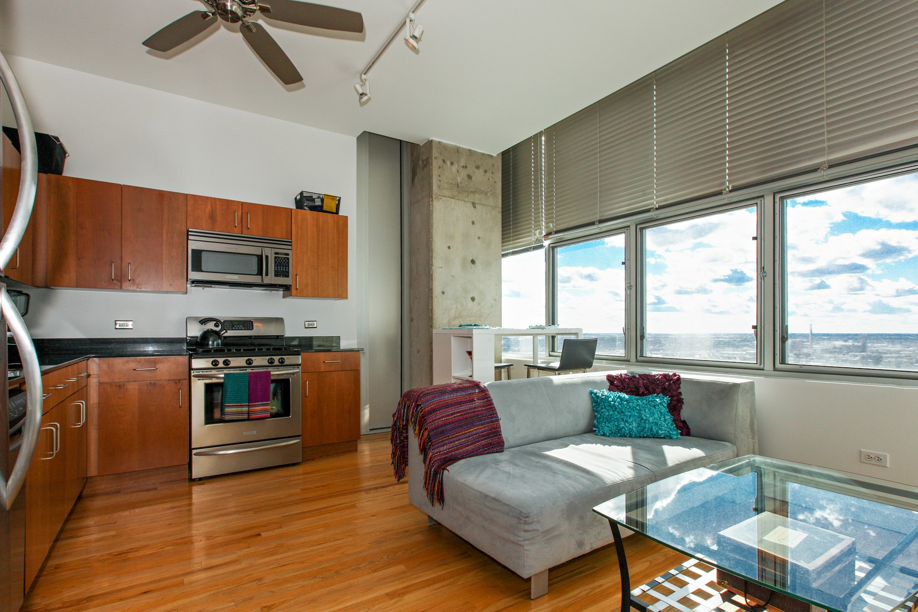 sales property at 32nd Floor in Contemporary Loft Building