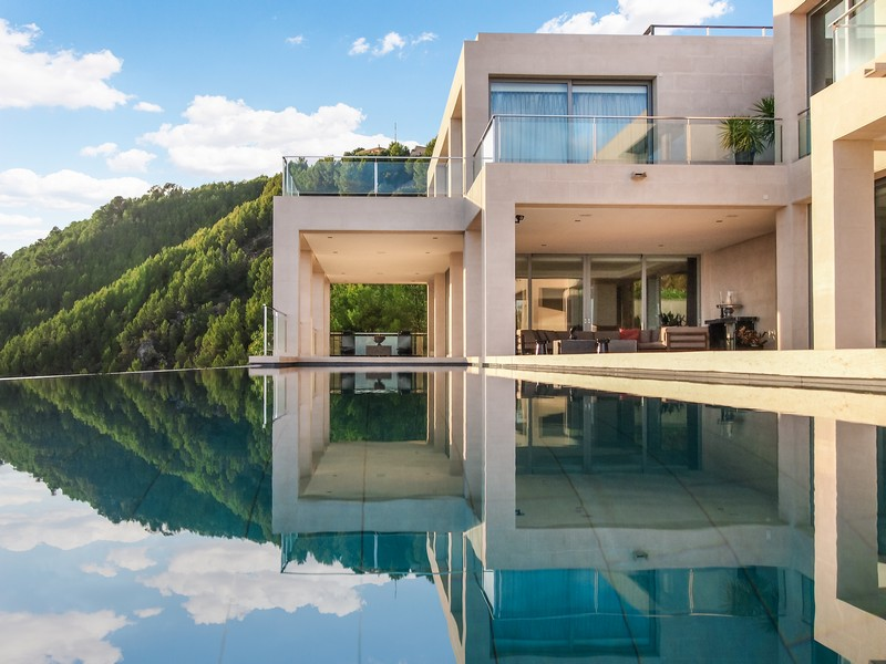 Property Of Modern Designer-Villa With Views To the bay