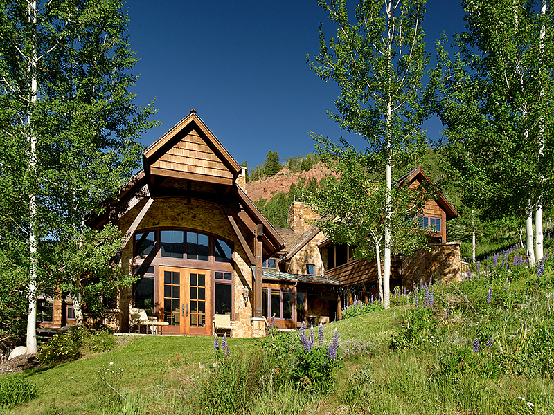 Single Family Home for Sale at Aspen Highlands Ski-In/Ski-Out Luxury Mtn. Chalet 460 Thunderbowl Lane West Aspen, Aspen, Colorado, 81611 United States