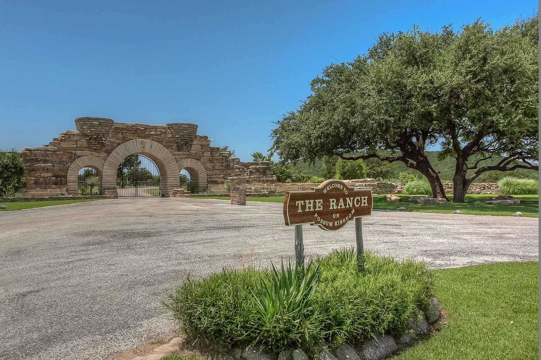 土地 为 销售 在 The Ranch on Possum Kingdom Lake 1030 Paradise Point 福德, 得克萨斯州, 76449 美国