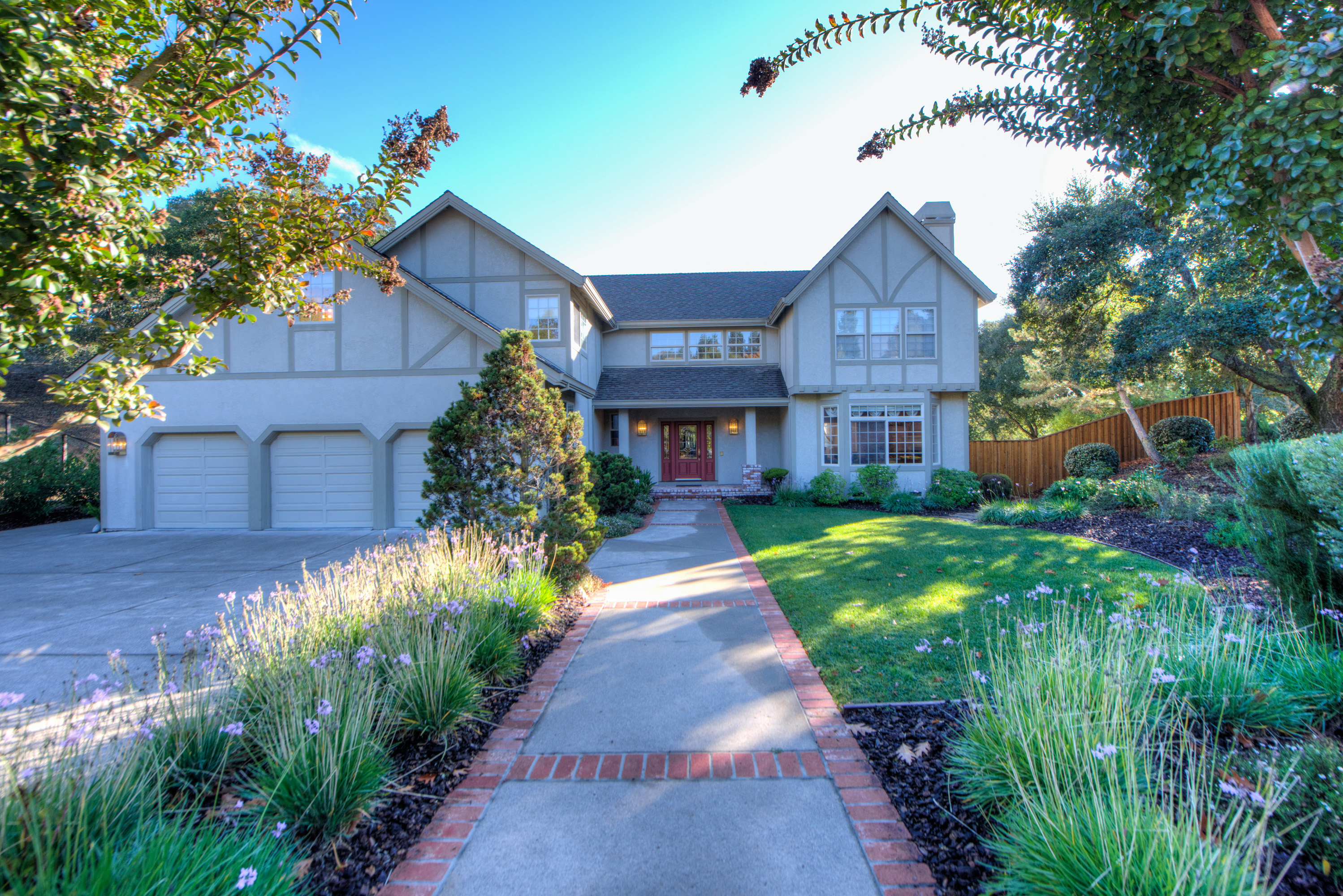 Single Family Home for Sale at Gorgeous Private Home at the Entrance to Indian Valley 2 Douglas Court Novato, California, 94947 United States