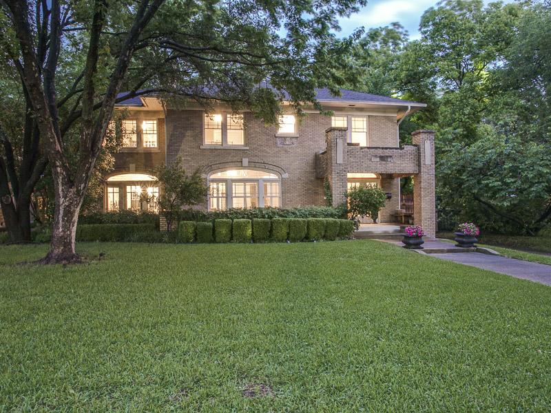 Casa Unifamiliar por un Venta en Swiss Historic Home 4912 Swiss Avenue Dallas, Texas 75214 Estados Unidos