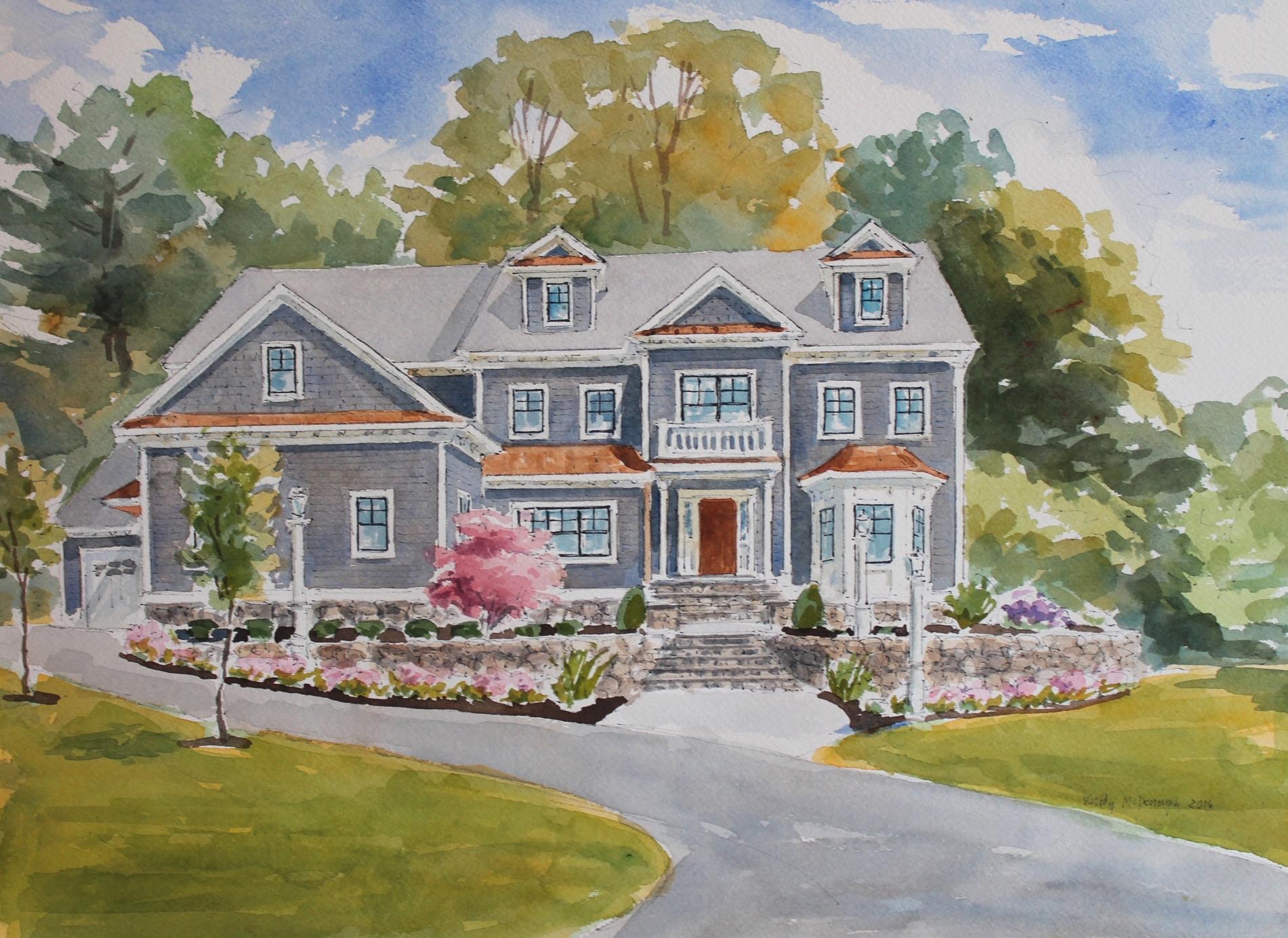 Частный односемейный дом для того Продажа на A True Statement! 71 Adams Street Lexington, Массачусетс, 02420 Соединенные Штаты