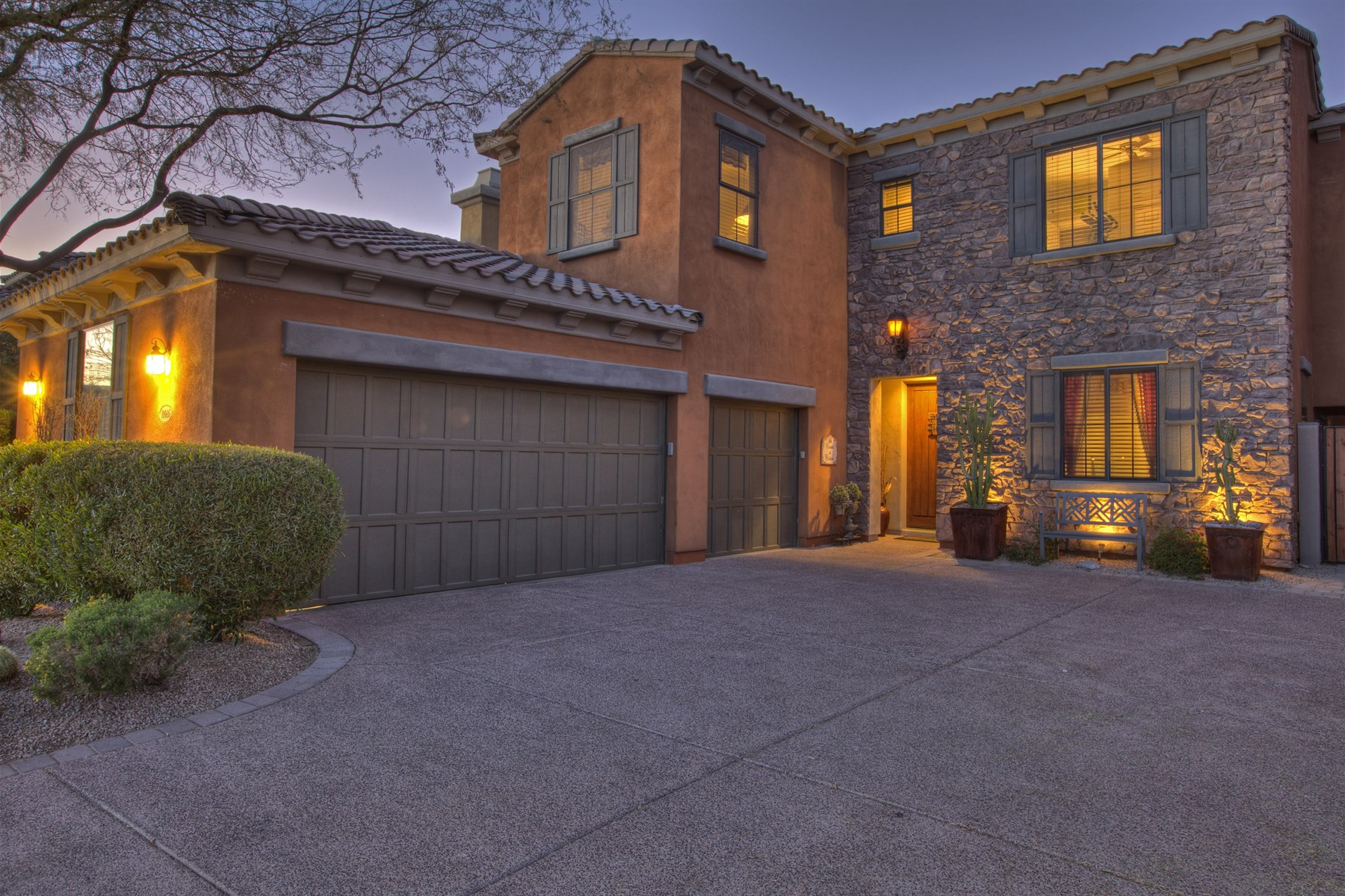 Single Family Home for Sale at Spectacular Mountain Views From This Home On A Premier Lot In Windgate Ranch 10086 E South Bend Drive Scottsdale, Arizona 85255 United States