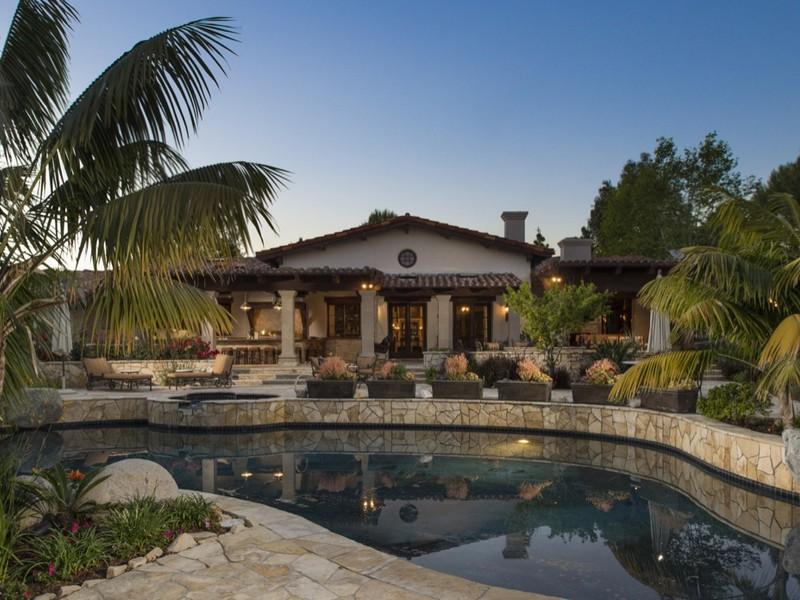 Casa Unifamiliar por un Venta en 5119 El Mirlo Rancho Santa Fe, California 92067 Estados Unidos