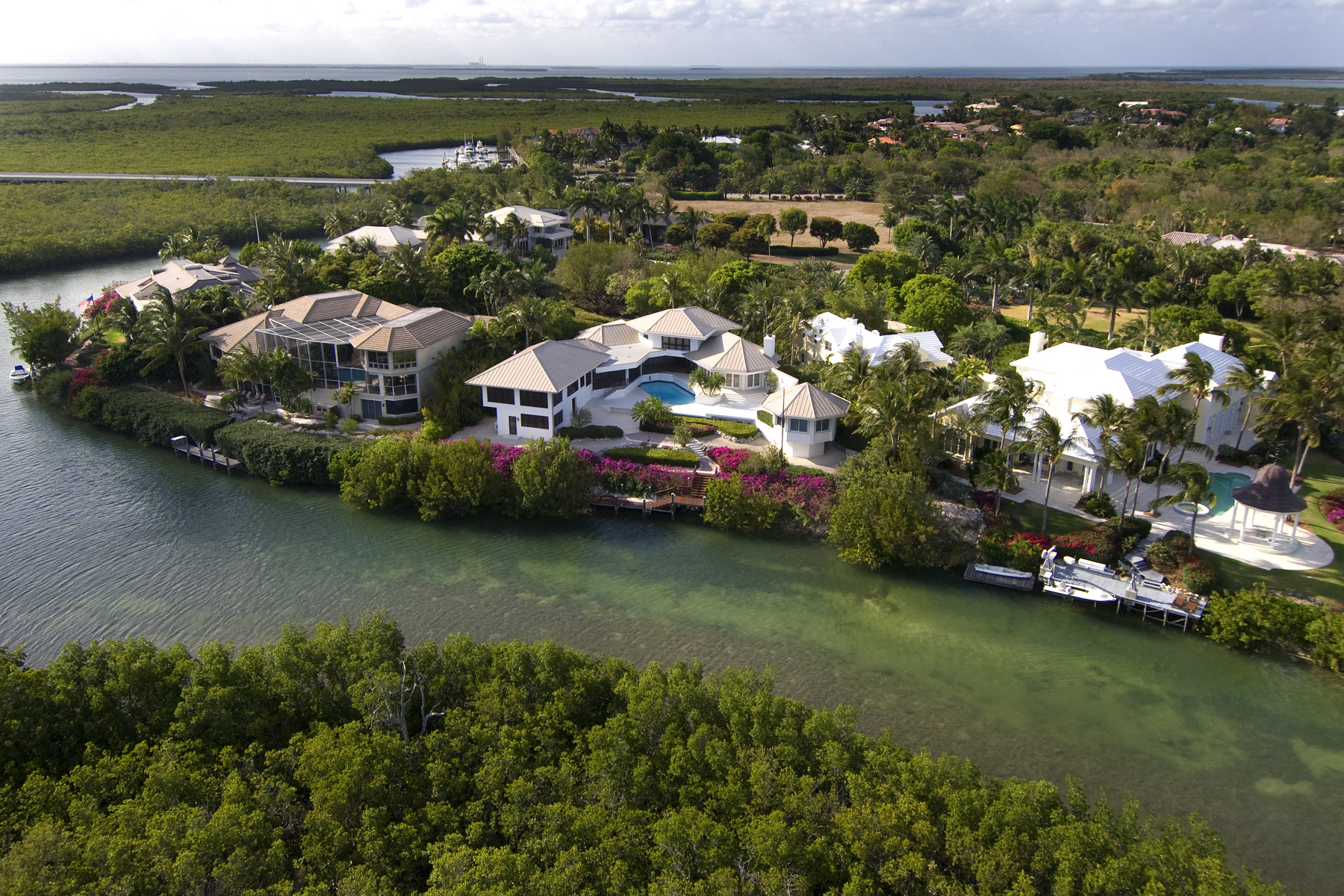 獨棟家庭住宅 為 出售 在 Ocean Views from Ocean Reef Home 9 Osprey Lane Ocean Reef Community, Key Largo, 佛羅里達州, 33037 美國